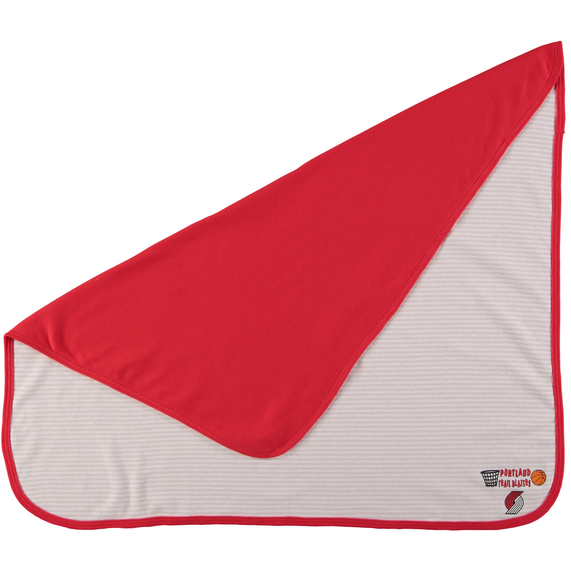 Portland Trail Blazers Infant Lil Kicker Baby Blanket - Red