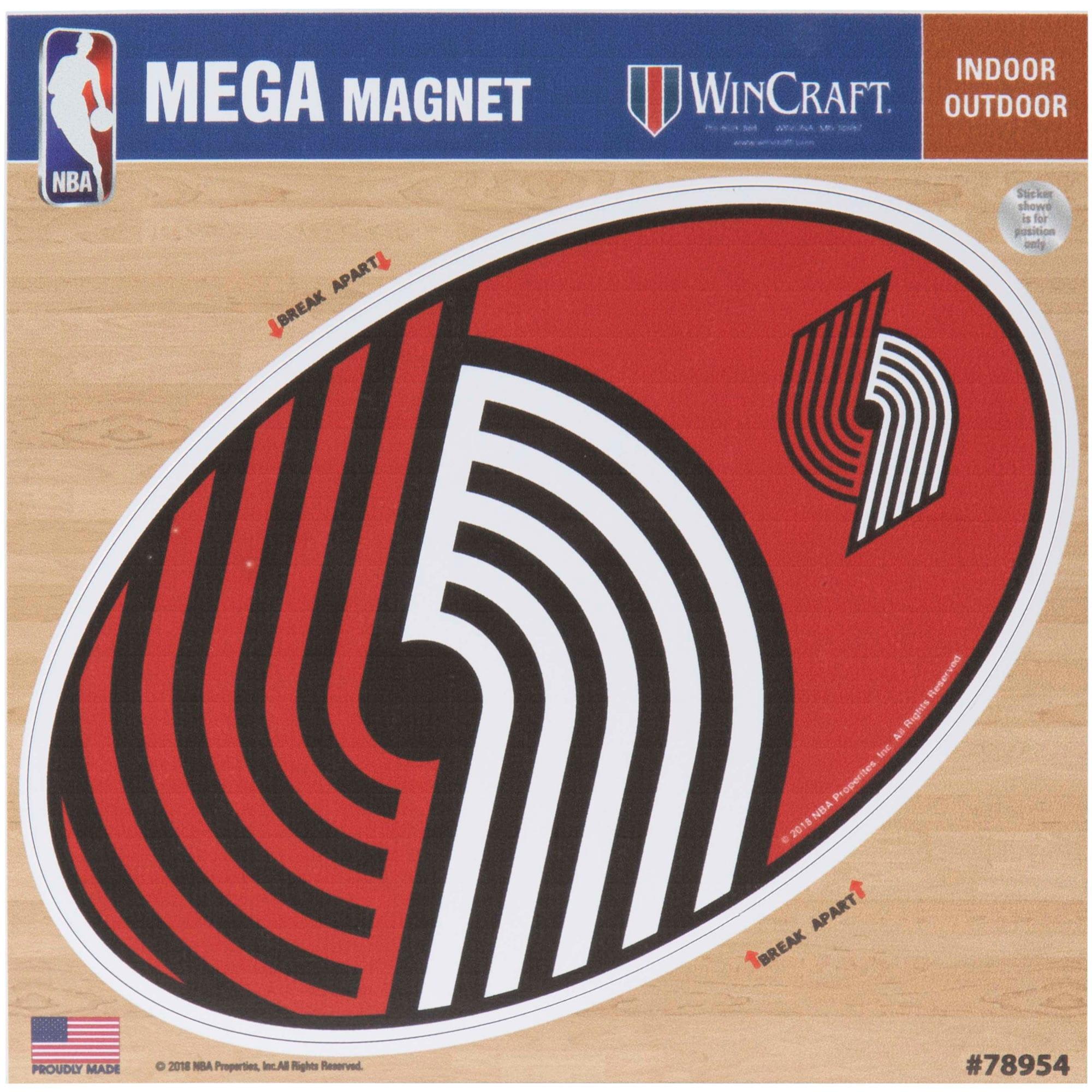 "Portland Trail Blazers 6"" x 6"" Mega Magnet"