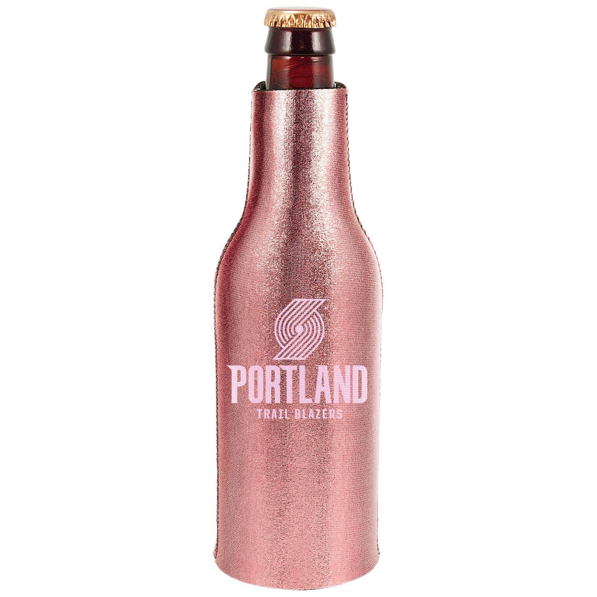 Portland Trail Blazers 12oz. Rose Gold Bottle Cooler