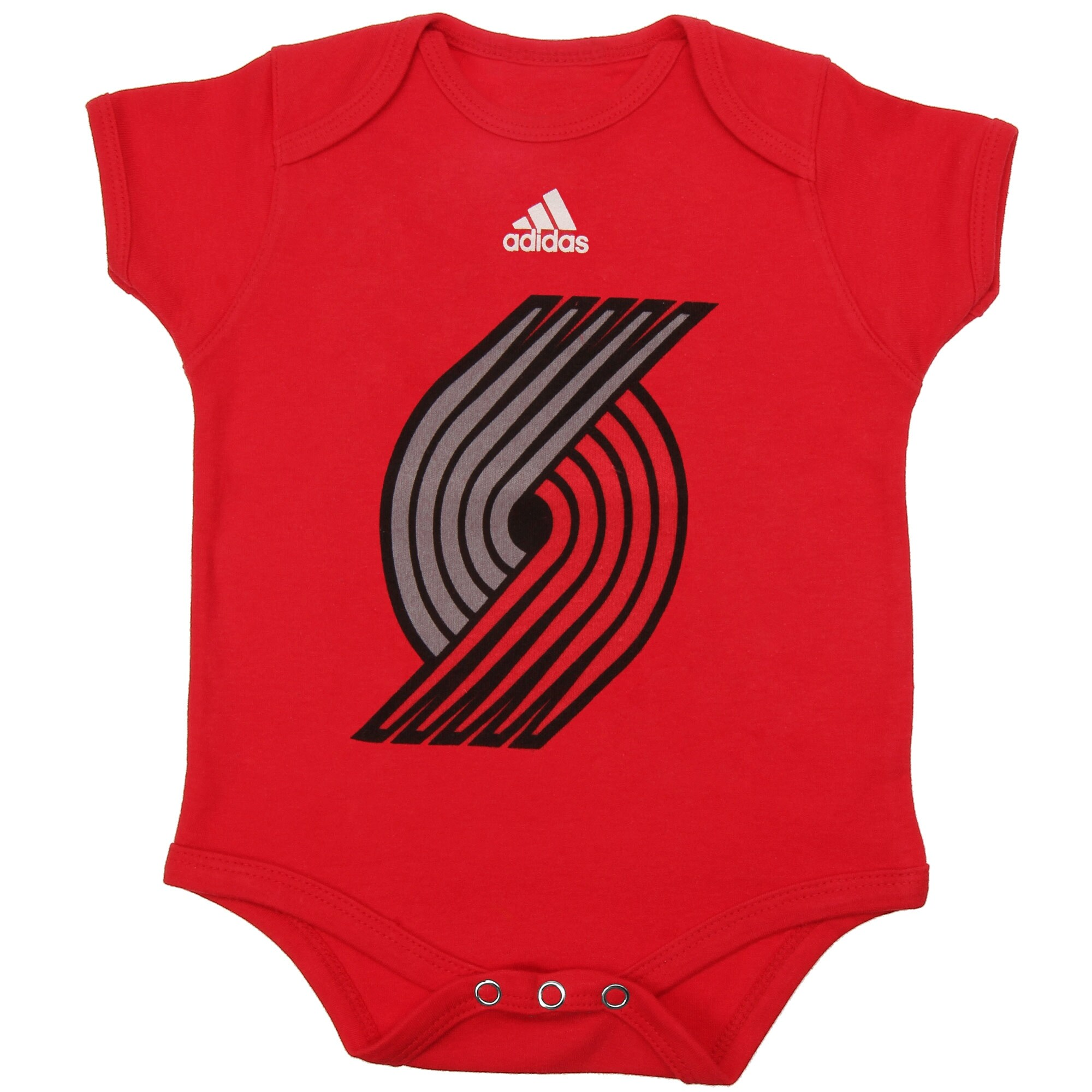 Portland Trail Blazers adidas Infant Primary Logo Bodysuit - Red