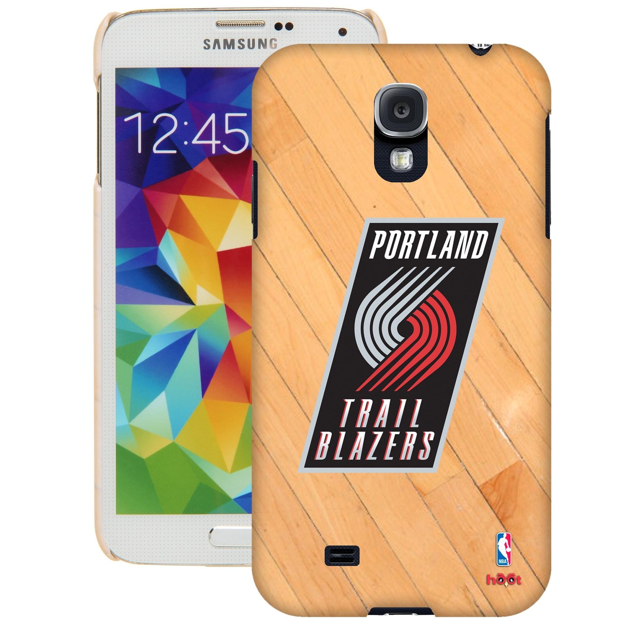 Portland Trail Blazers Galaxy S5 Hardwood Court Case