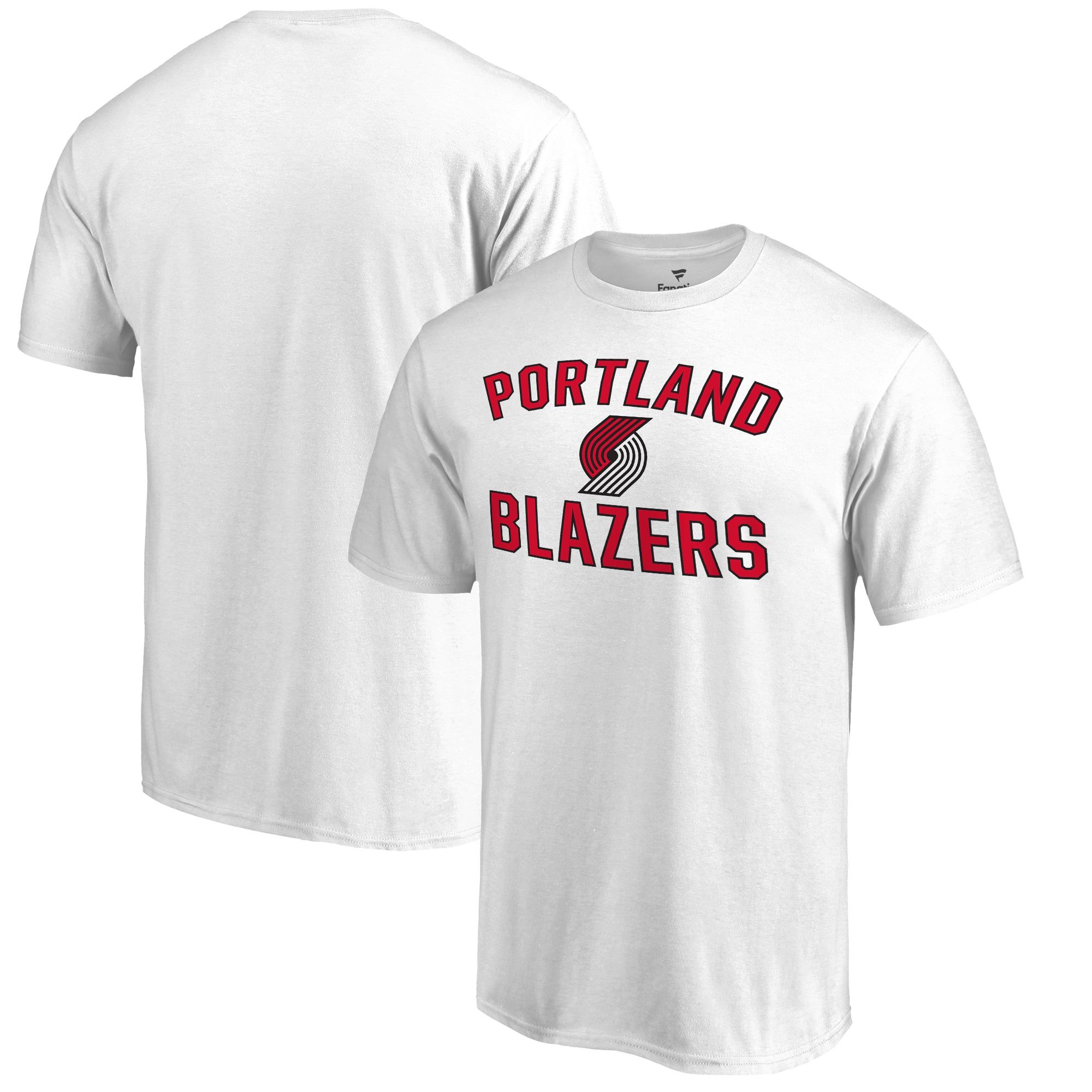 Portland Trail Blazers Victory Arch T-Shirt - White