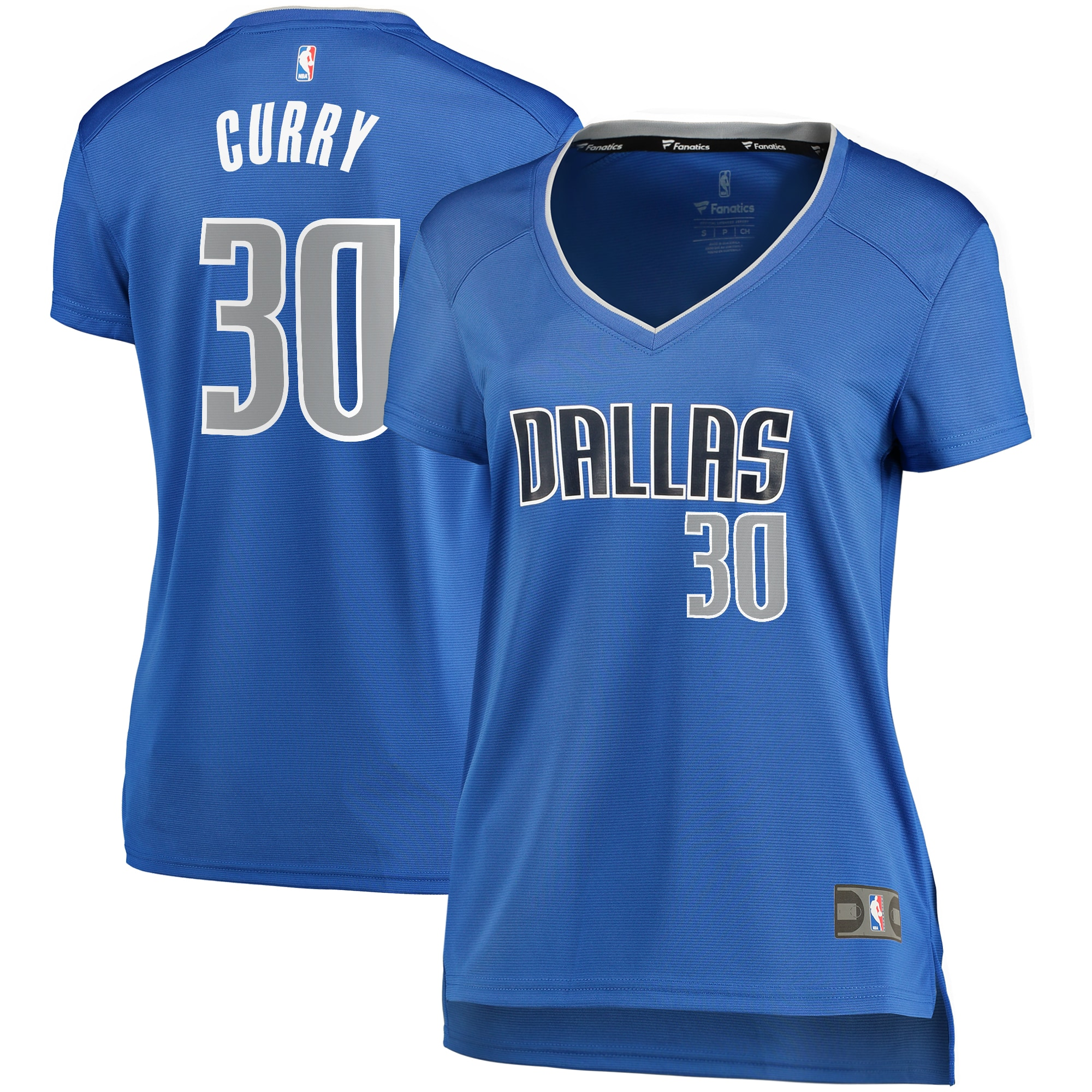 Seth Curry Dallas Mavericks Fanatics Branded Women's Fast Break Player Replica Jersey - Icon Edition - Blue