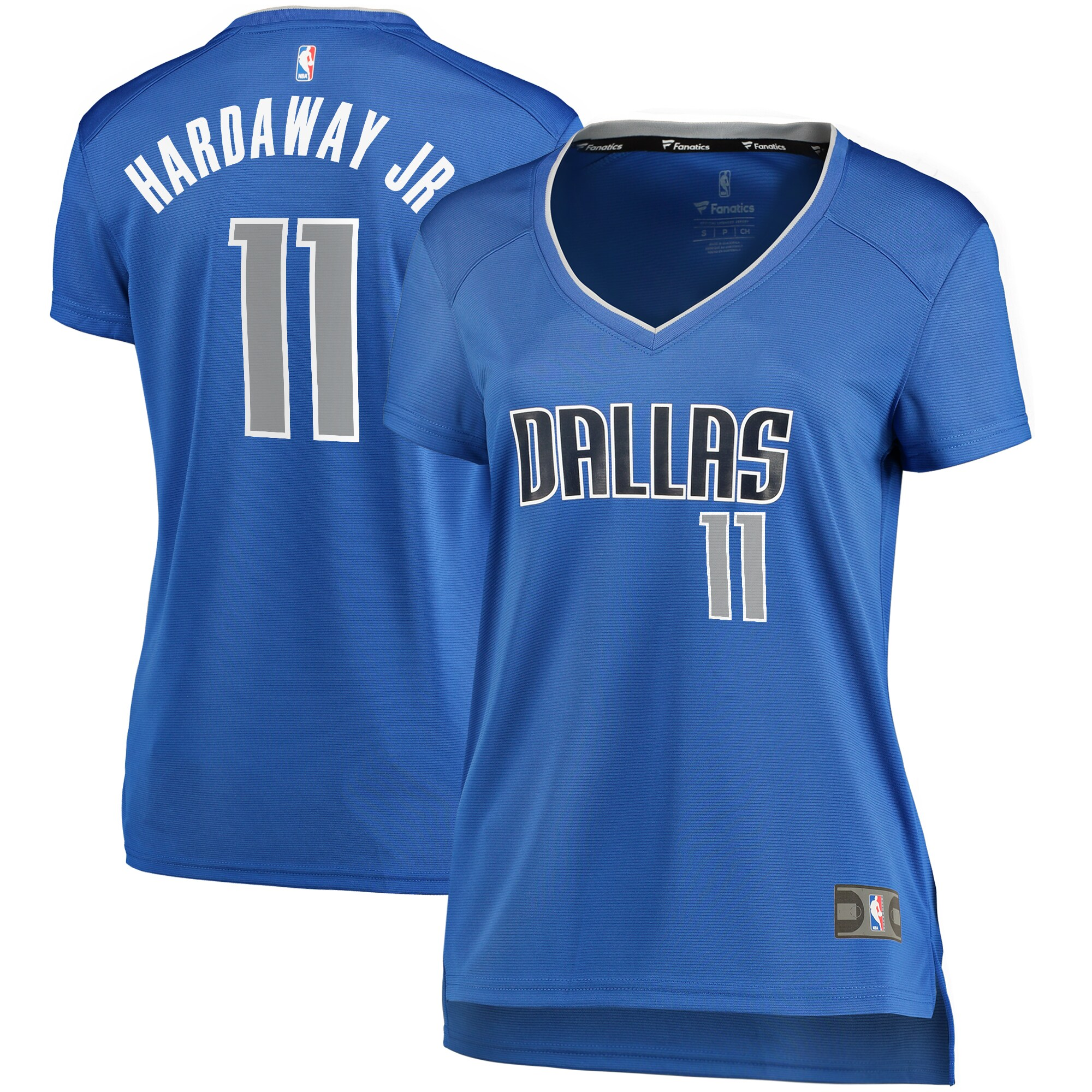 Tim Hardaway Jr. Dallas Mavericks Fanatics Branded Women's Fast Break Player Replica Jersey - Icon Edition - Blue