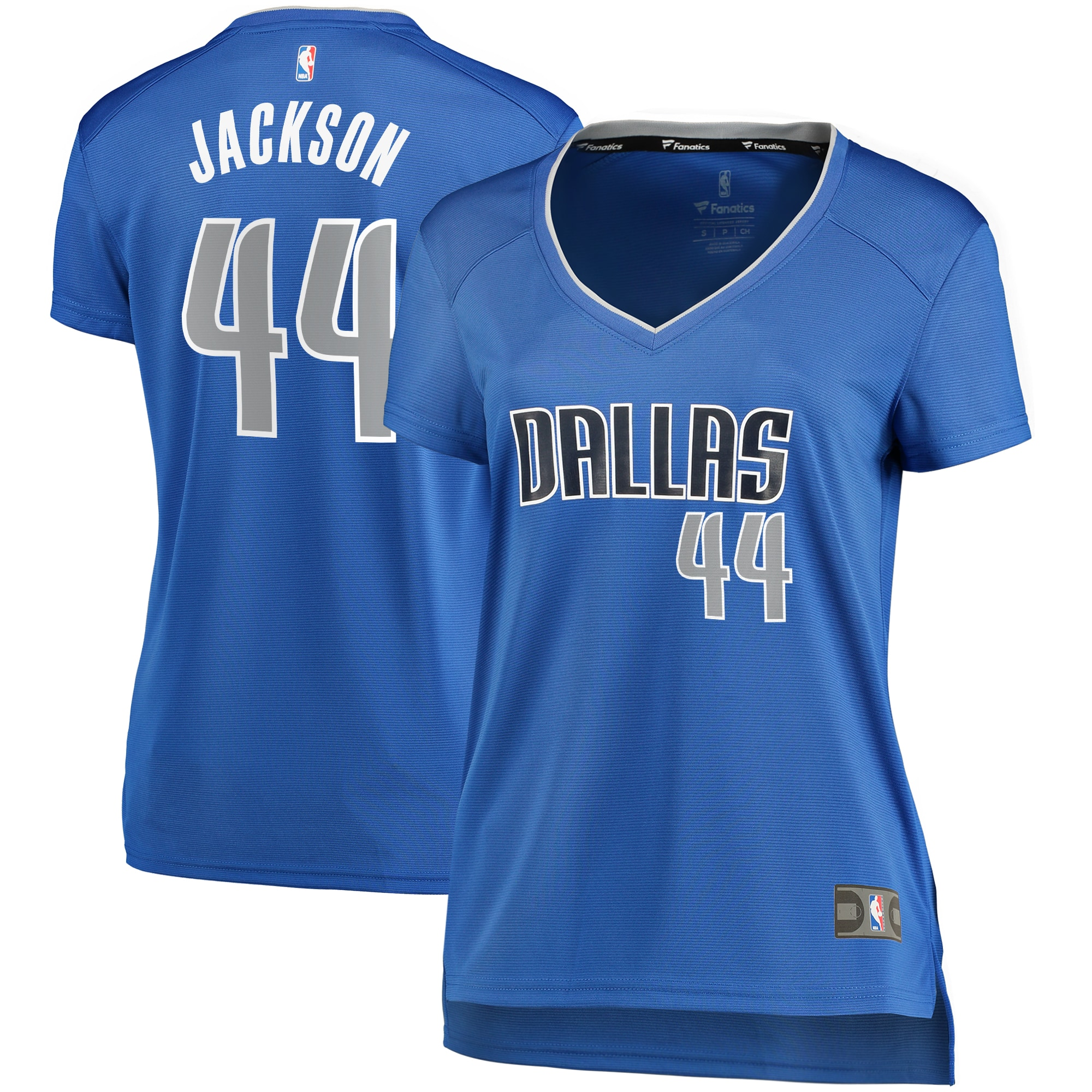 Justin Jackson Dallas Mavericks Fanatics Branded Women's Fast Break Player Replica Jersey - Icon Edition - Blue