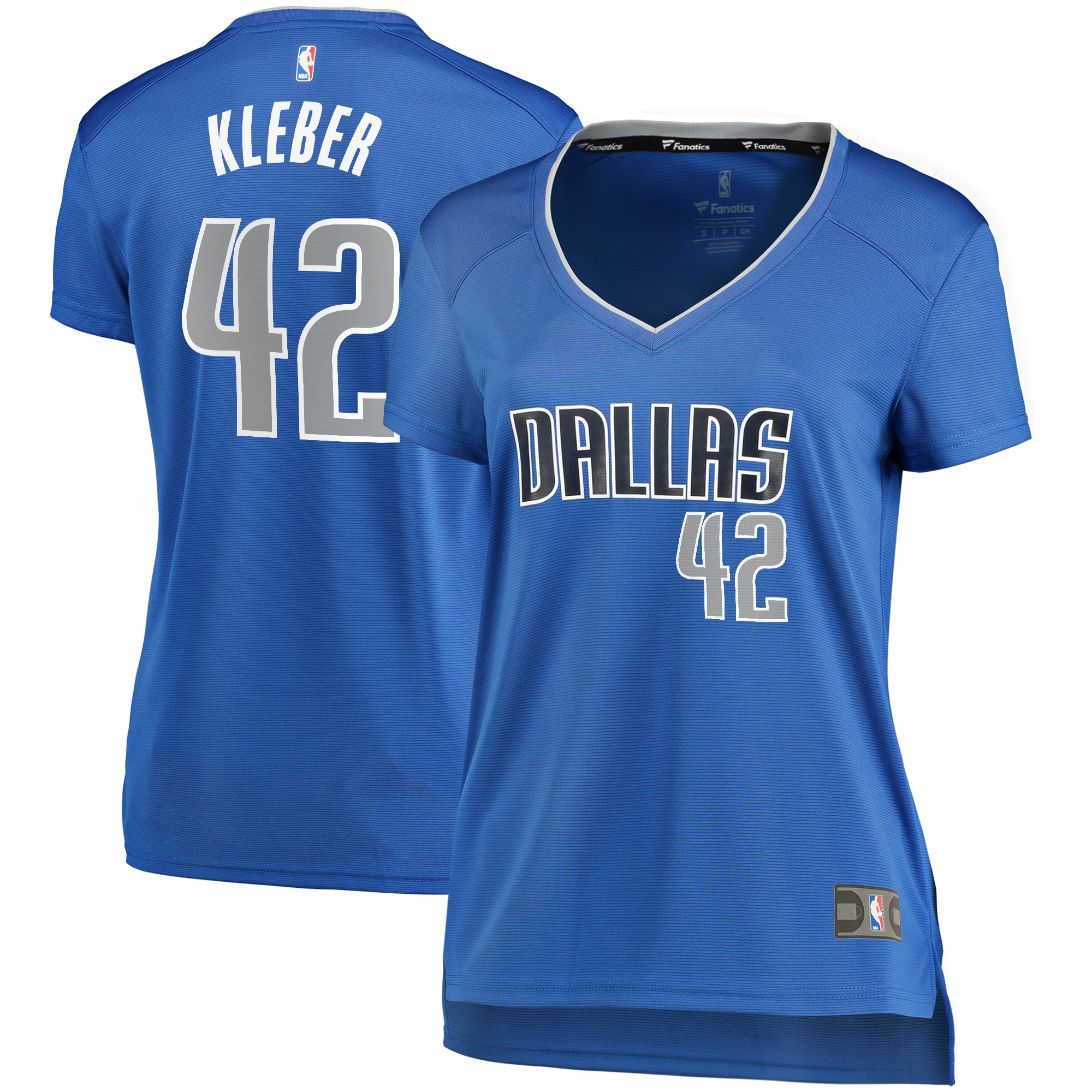 Maxi Kleber Dallas Mavericks Fanatics Branded Women's Fast Break Player Replica Jersey - Icon Edition - Blue
