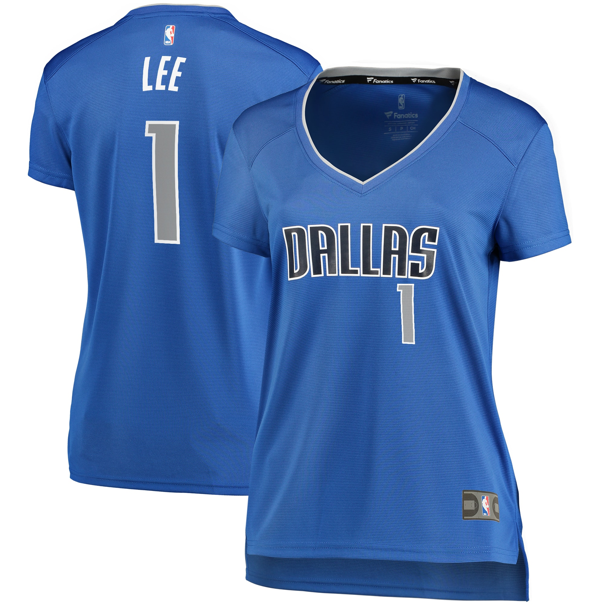 Courtney Lee Dallas Mavericks Fanatics Branded Women's Fast Break Player Replica Jersey - Icon Edition - Blue