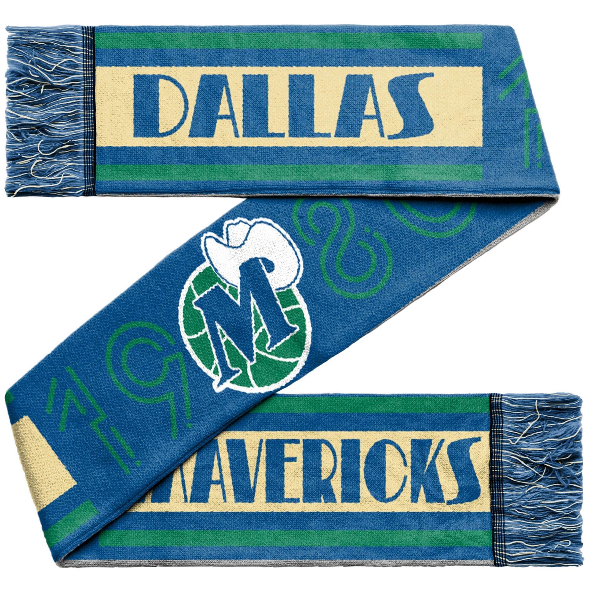 Dallas Mavericks Retro Reversible Scarf