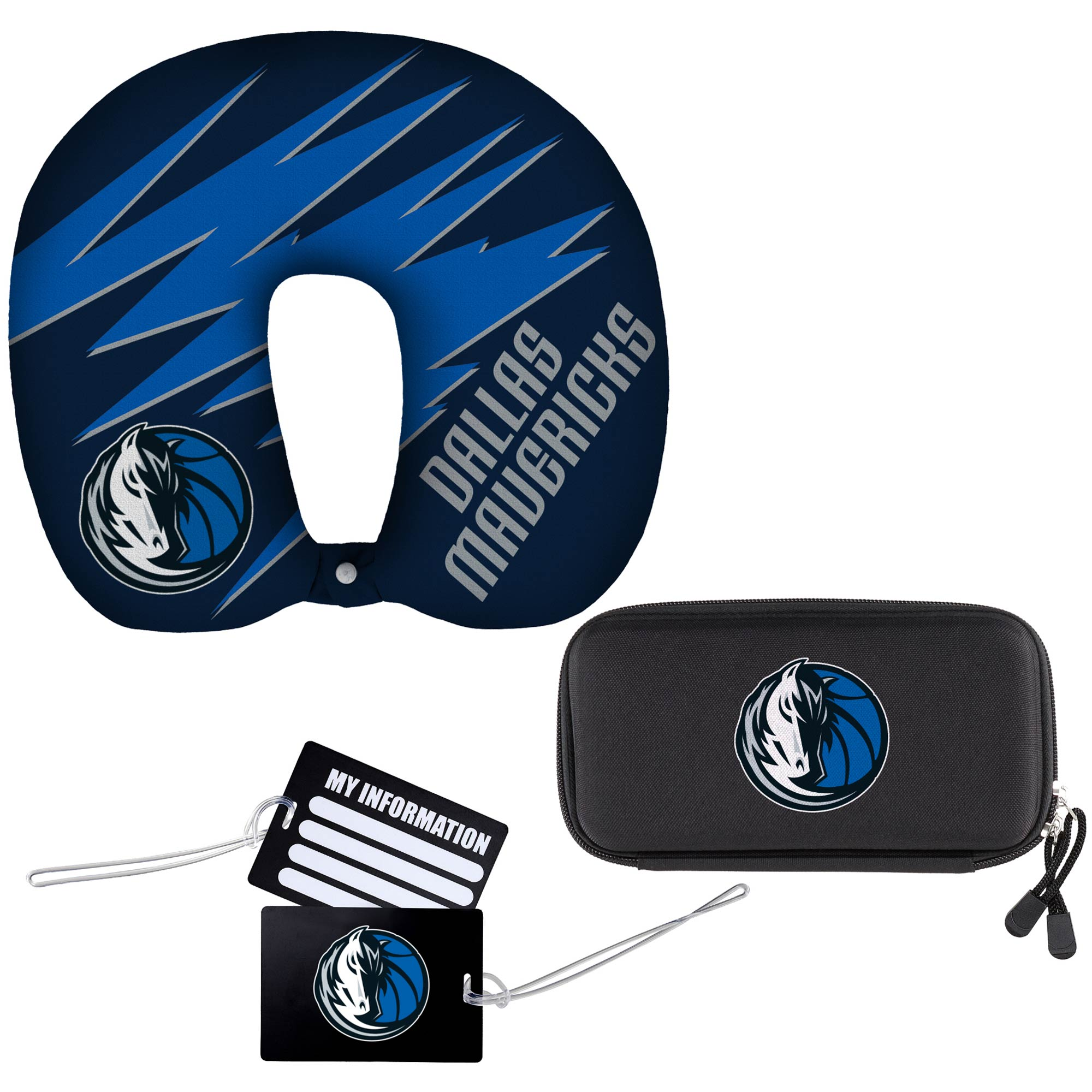 Dallas Mavericks The Northwest Company Four-Piece Travel Set