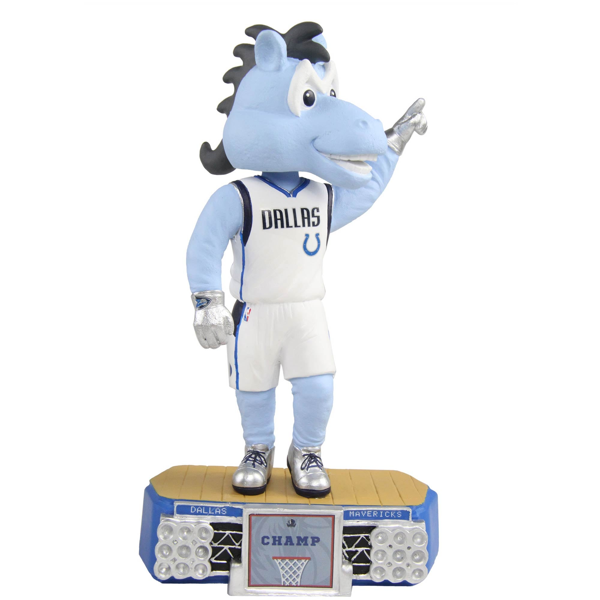 Dallas Mavericks Stadium Lights Mascot Bobblehead