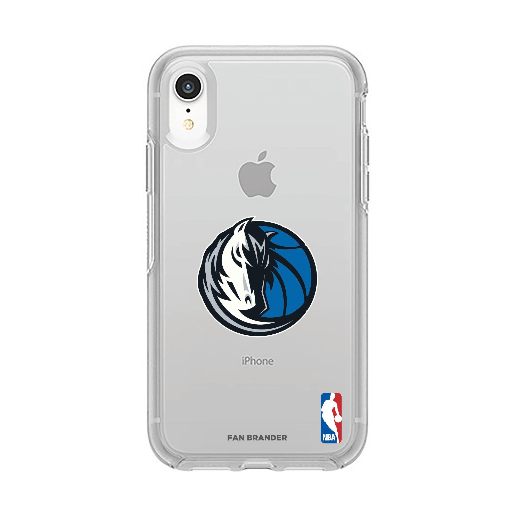 Dallas Mavericks OtterBox Clear Primary Logo iPhone Case