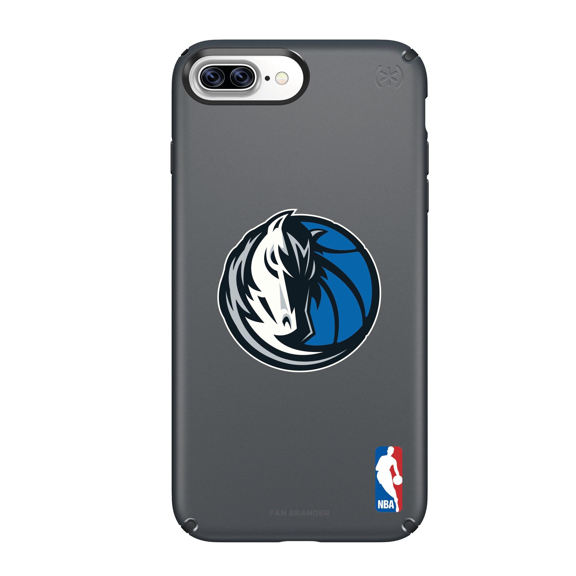 Dallas Mavericks Speck Primary Logo iPhone Case - Black