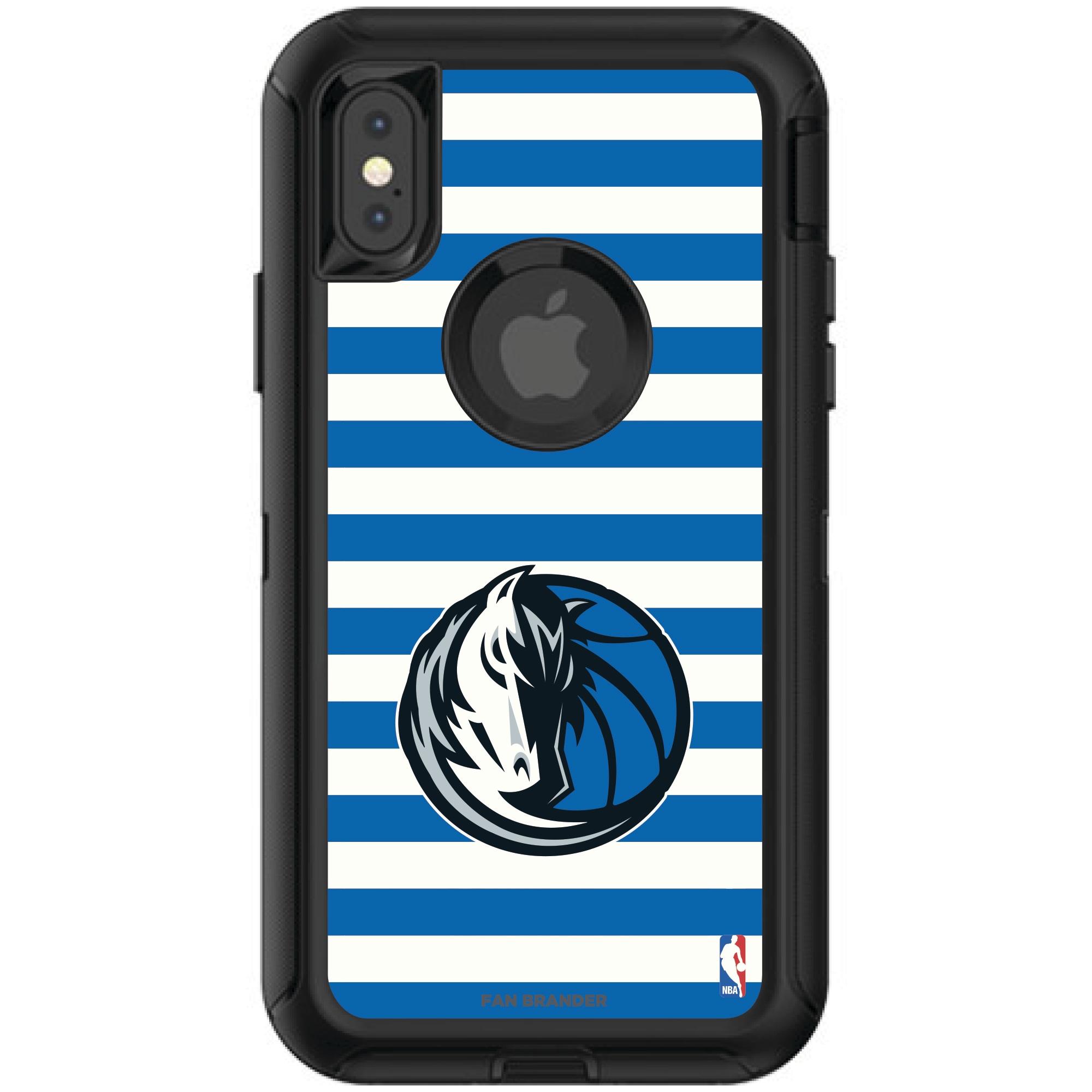 Dallas Mavericks OtterBox iPhone Defender Striped Design Case