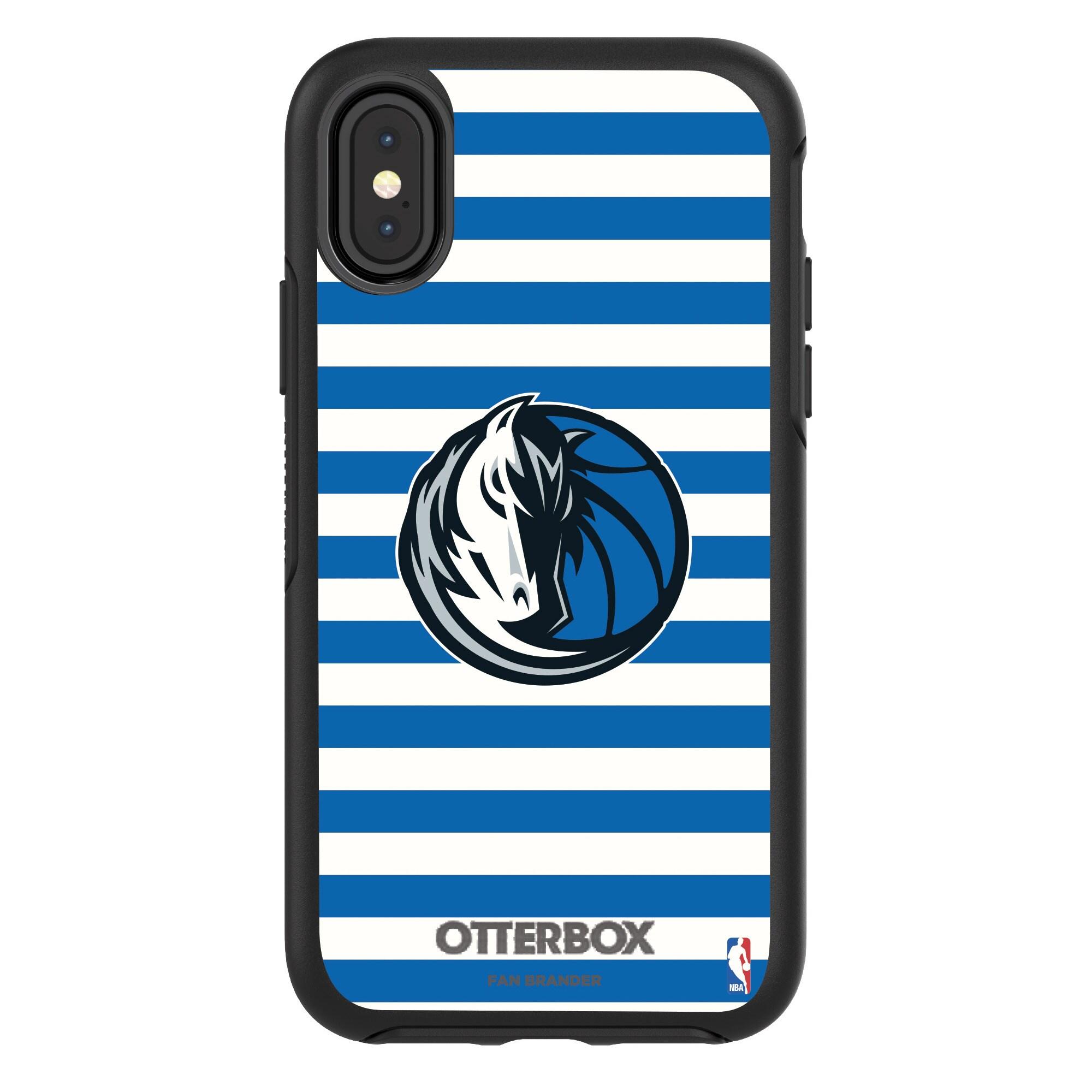 Dallas Mavericks OtterBox iPhone Symmetry Striped Design Case