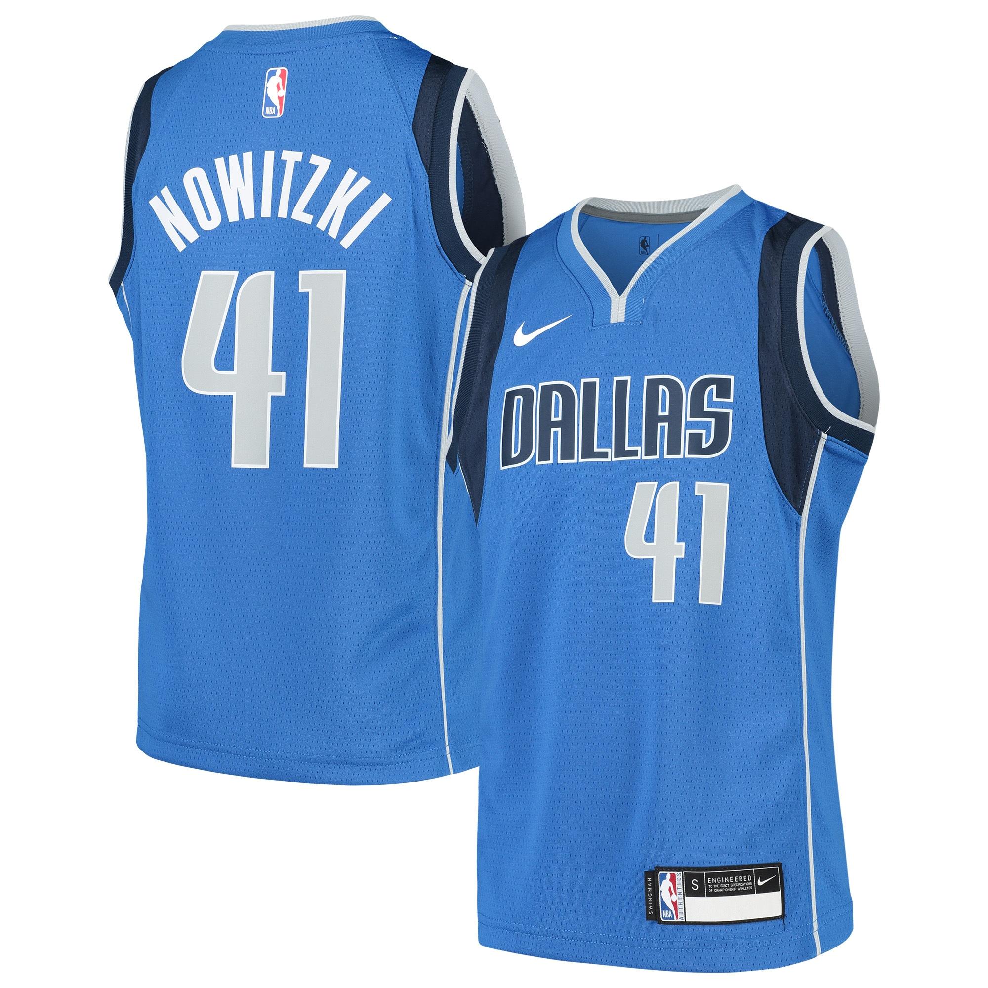 Dirk Nowitzki Dallas Mavericks Nike Youth Swingman Jersey Blue - Icon Edition