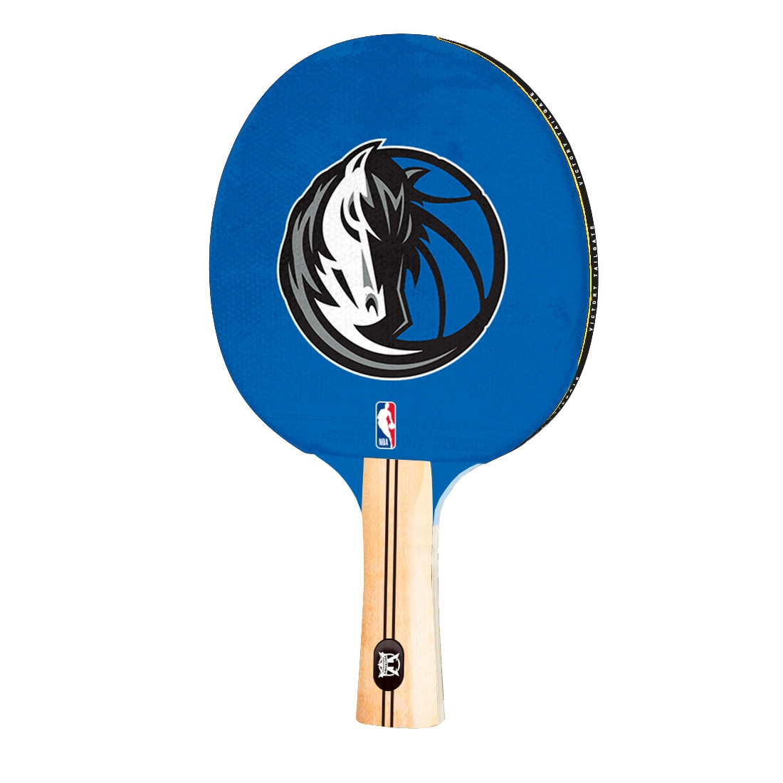 Dallas Mavericks Logo Table Tennis Paddle