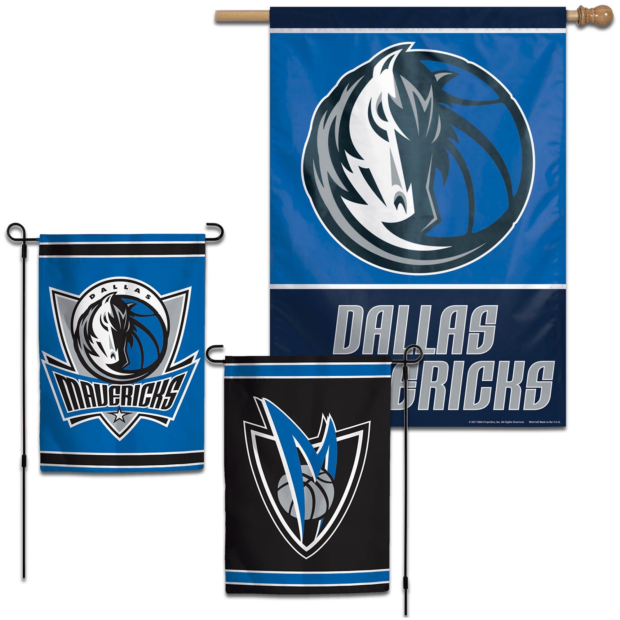 Dallas Mavericks WinCraft House and Garden Flag Pack