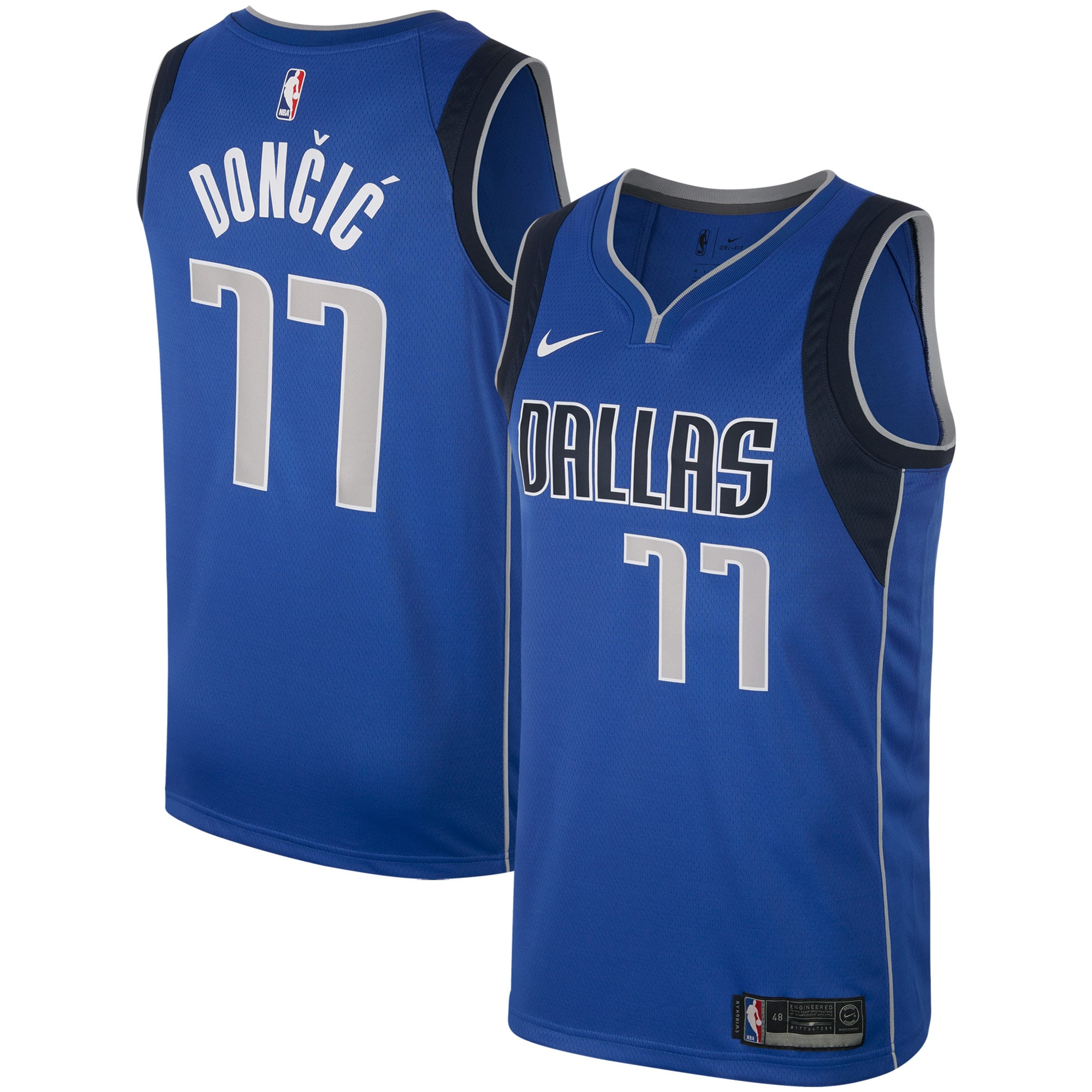 Dallas Mavericks Luka Doncic Nike Men's Swingman Jersey - Royal