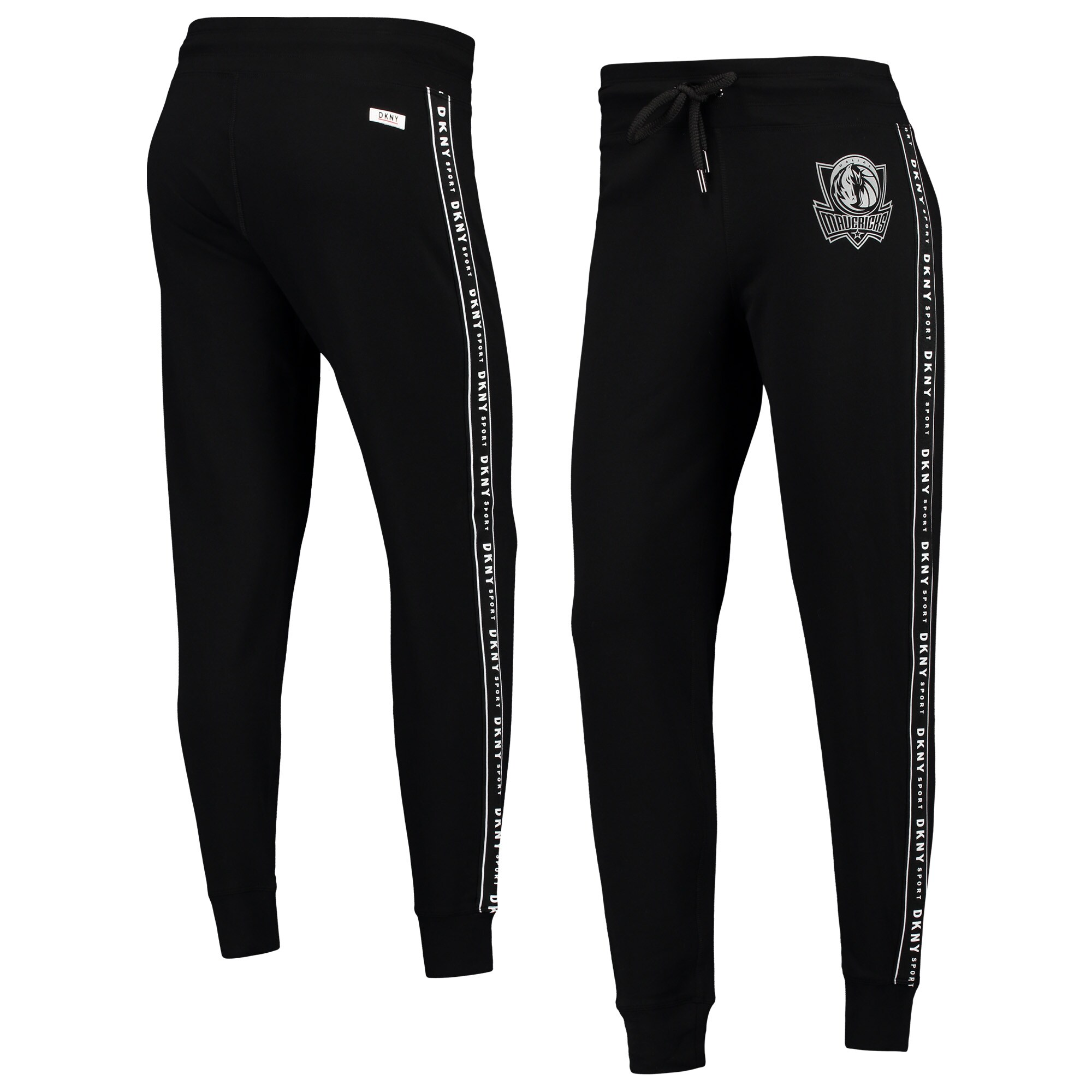 Dallas Mavericks DKNY Sport Women's Brooke Jogger Pants - Black
