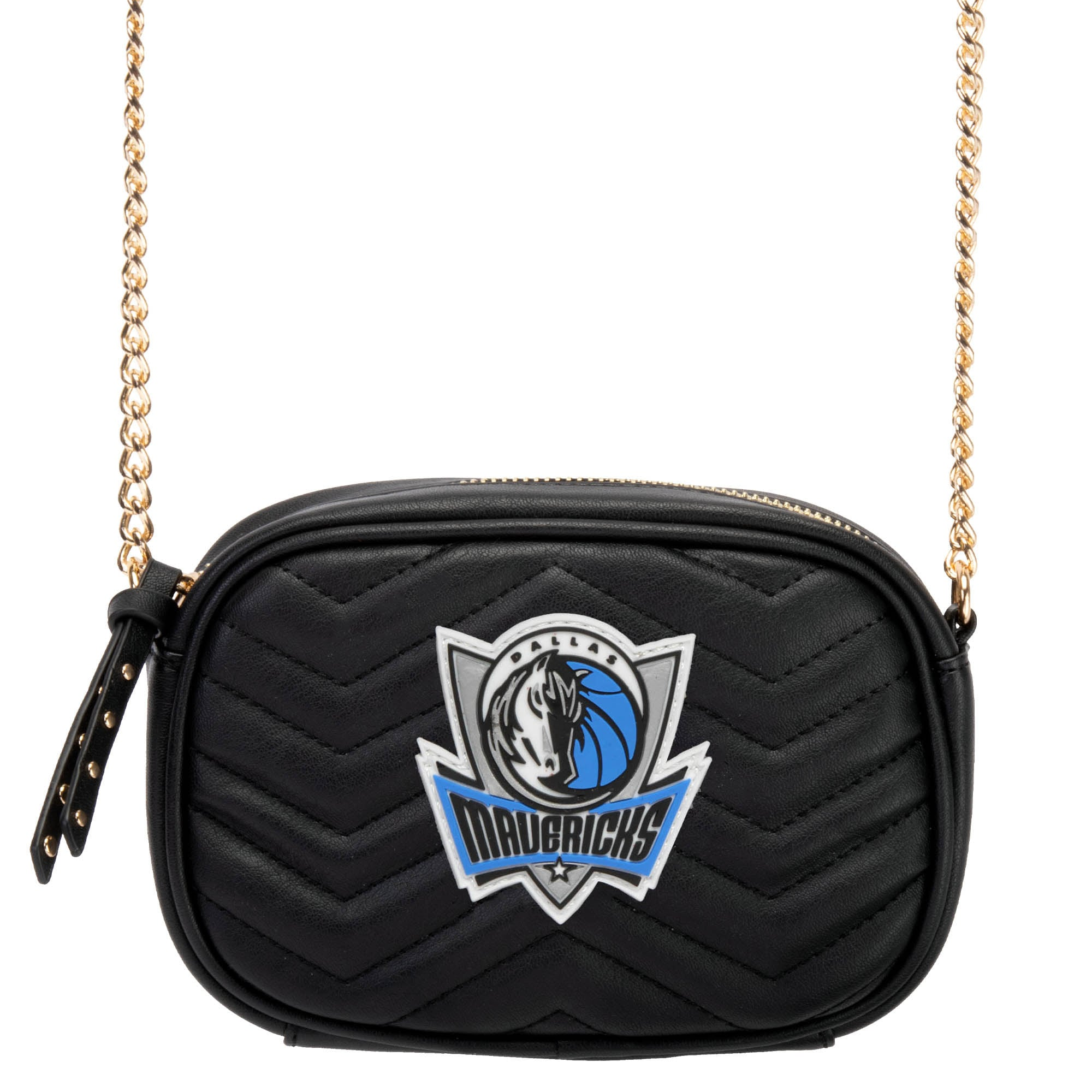 Dallas Mavericks Women's Crossbody Bag - Black