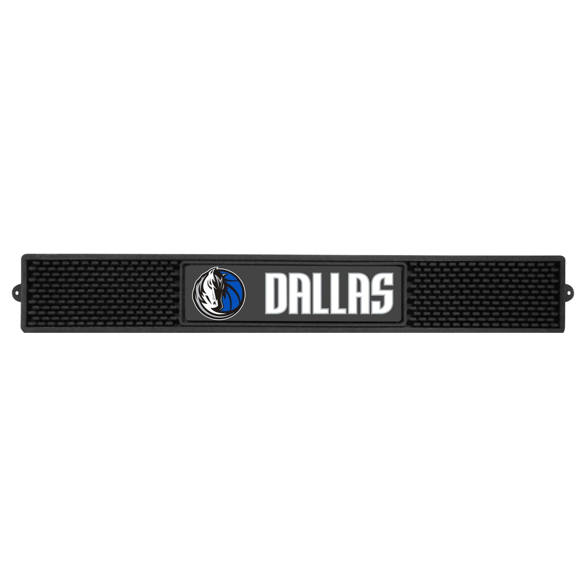 "Dallas Mavericks 3.25"" x 24"" Drink Mat"