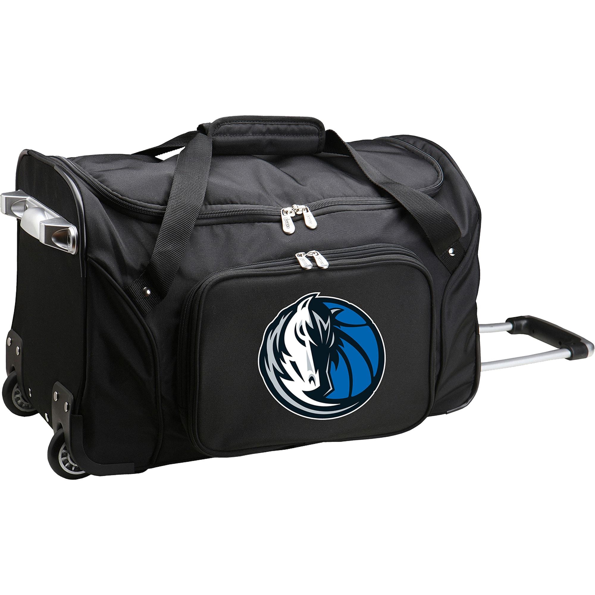 "Dallas Mavericks 22"" 2-Wheeled Duffel Bag - Black"