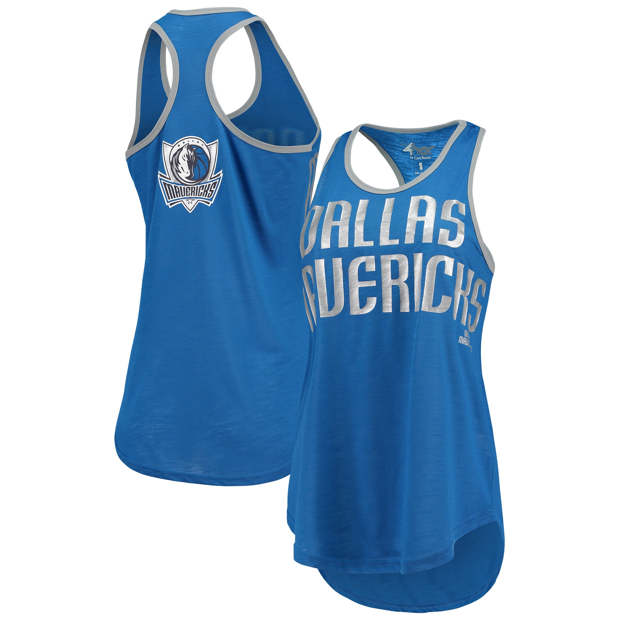 Dallas Mavericks G-III 4Her by Carl Banks Women's Game Time Tank Top - Blue