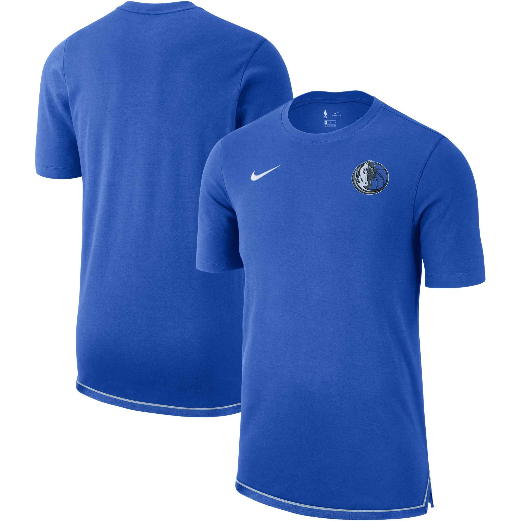 Dallas Mavericks Nike Essential Uniform DNA T-Shirt - Blue