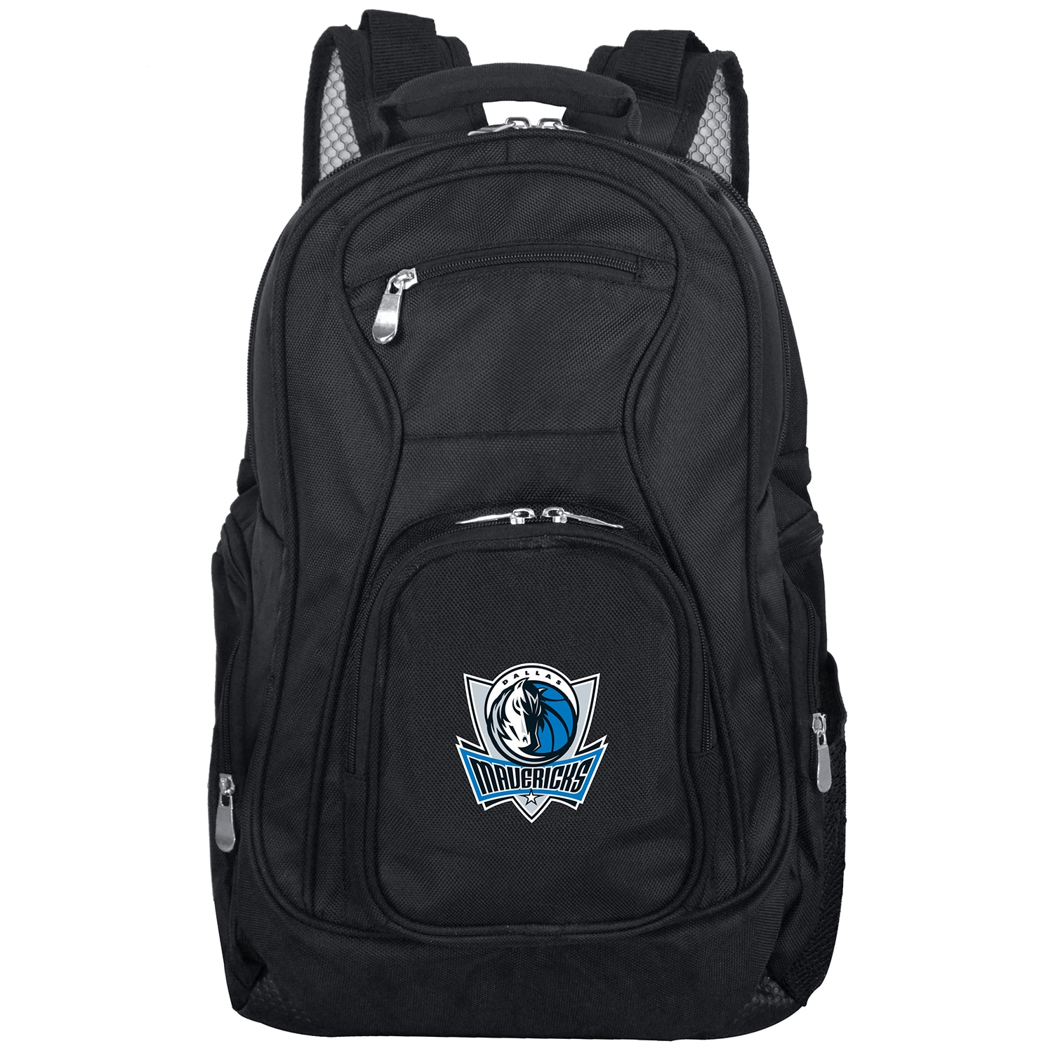 "Dallas Mavericks 19"" Laptop Travel Backpack - Black"