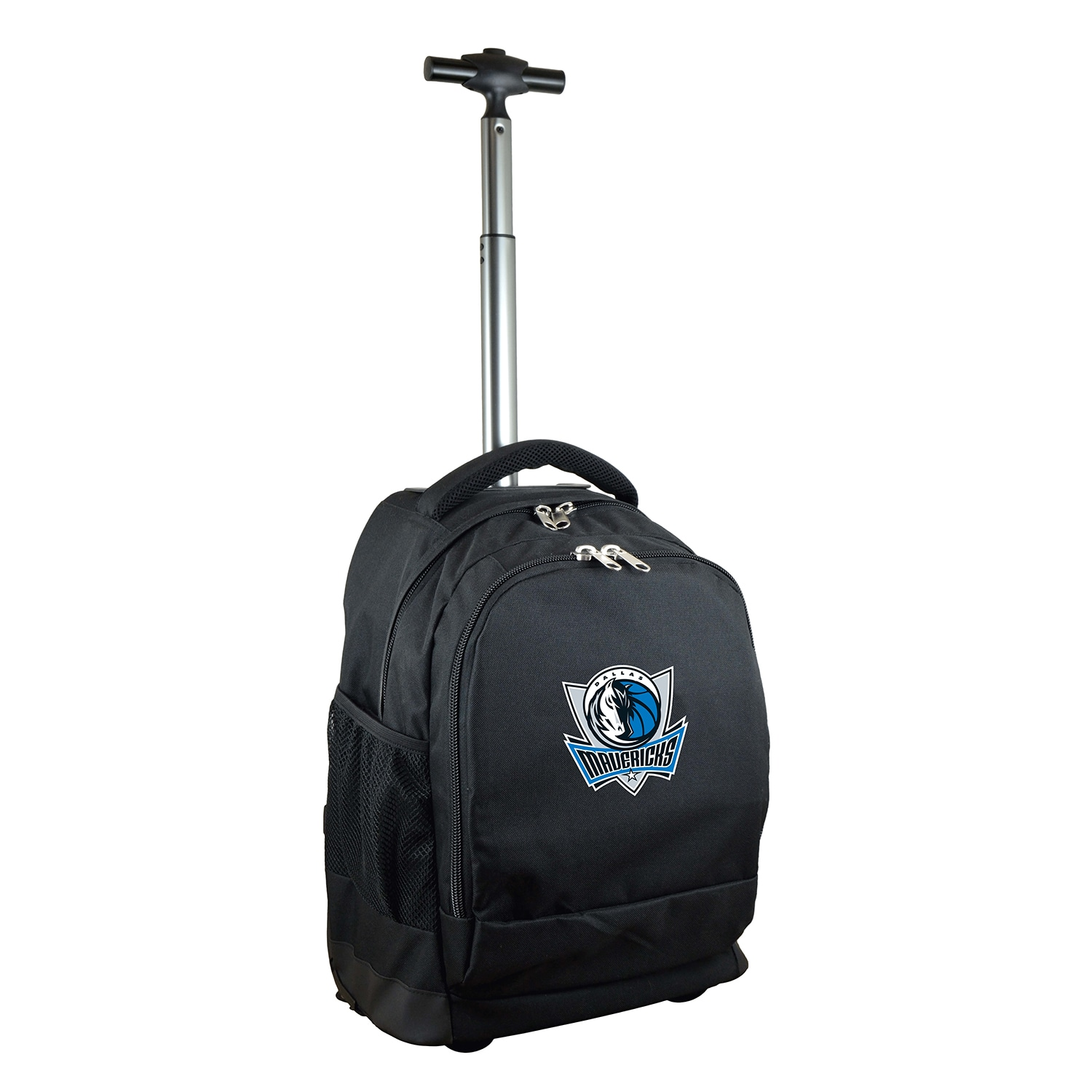 Dallas Mavericks 19'' Premium Wheeled Backpack - Black