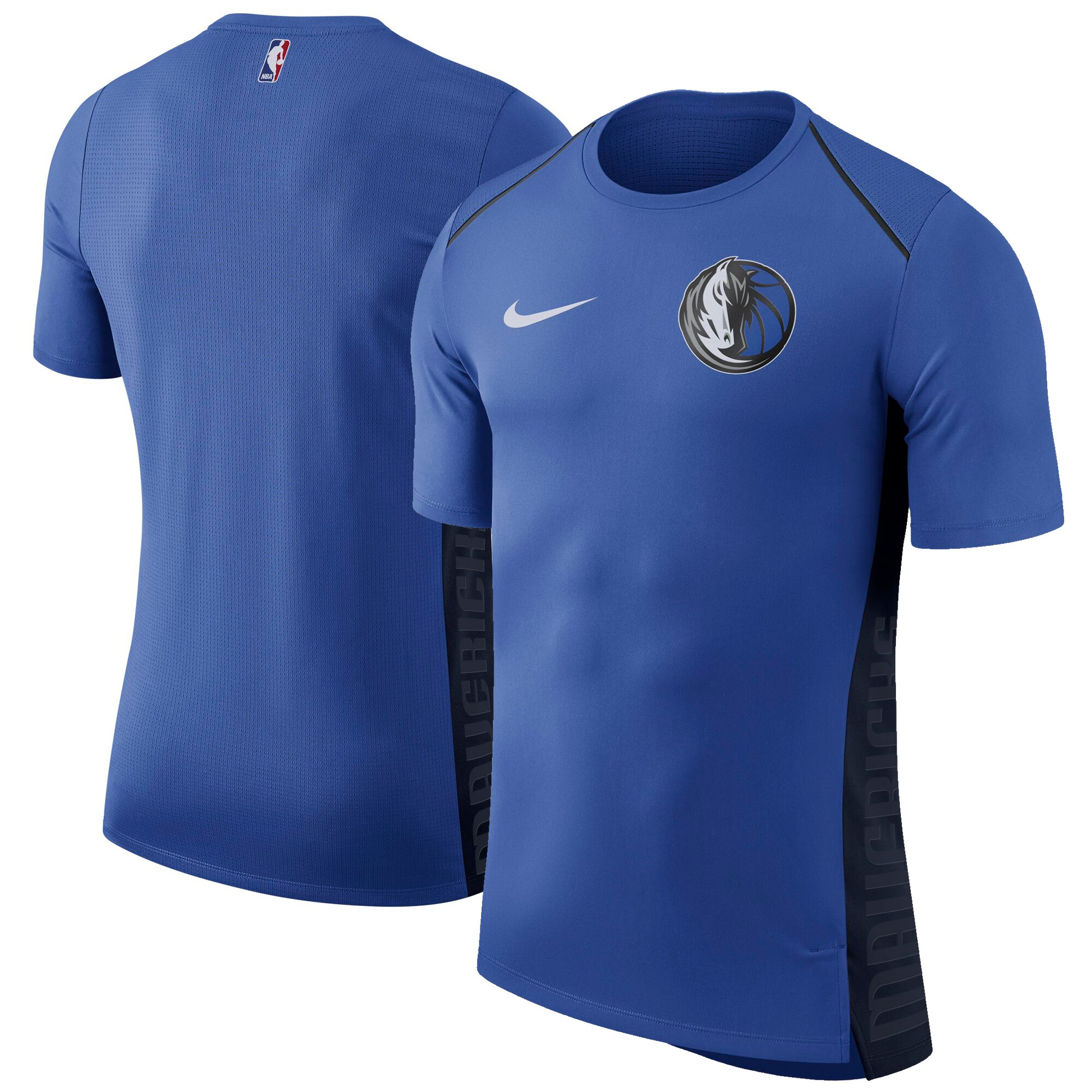 Dallas Mavericks Nike Elite Shooter Performance T-Shirt - Blue