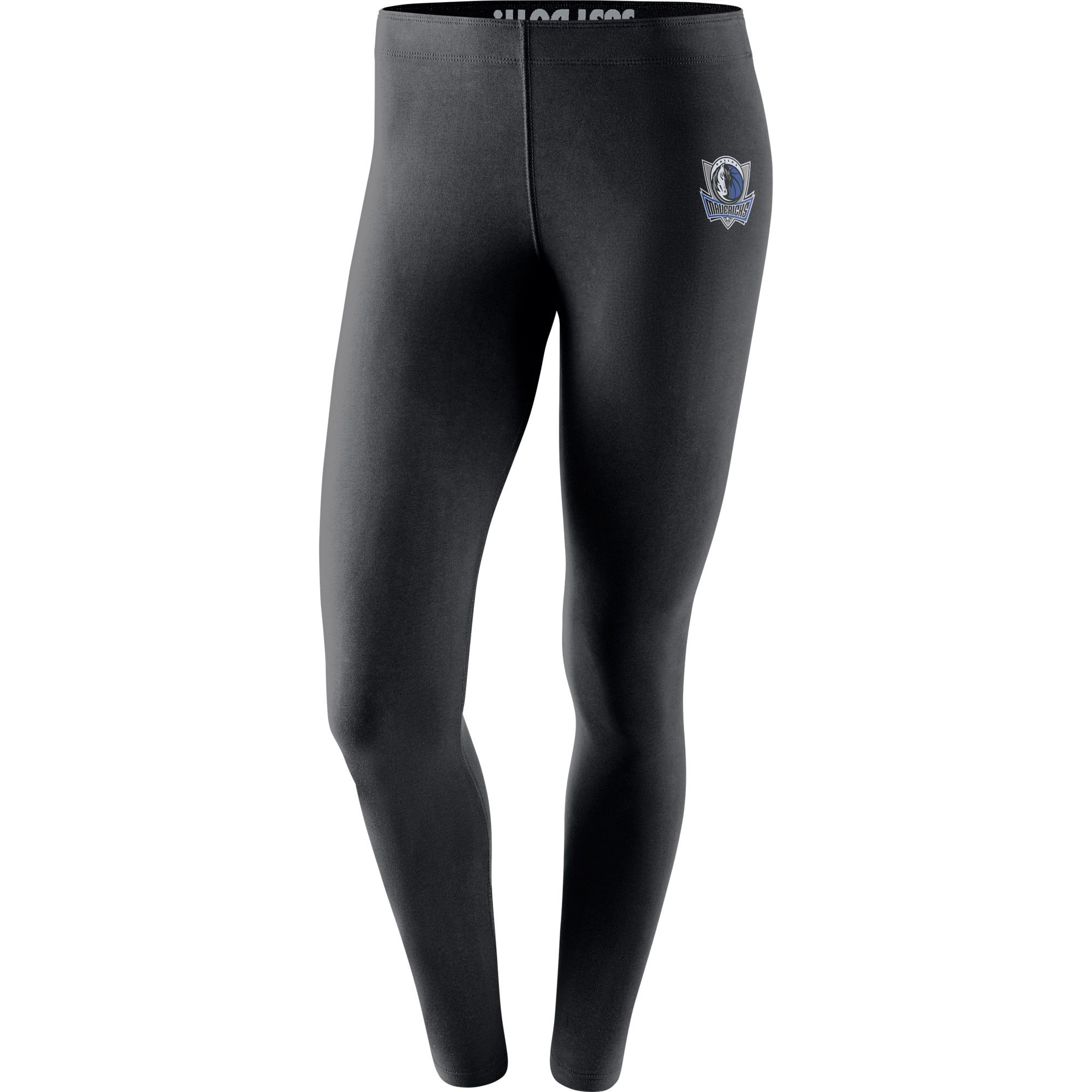 Dallas Mavericks Nike Women's Leg-A-See Tights - Black