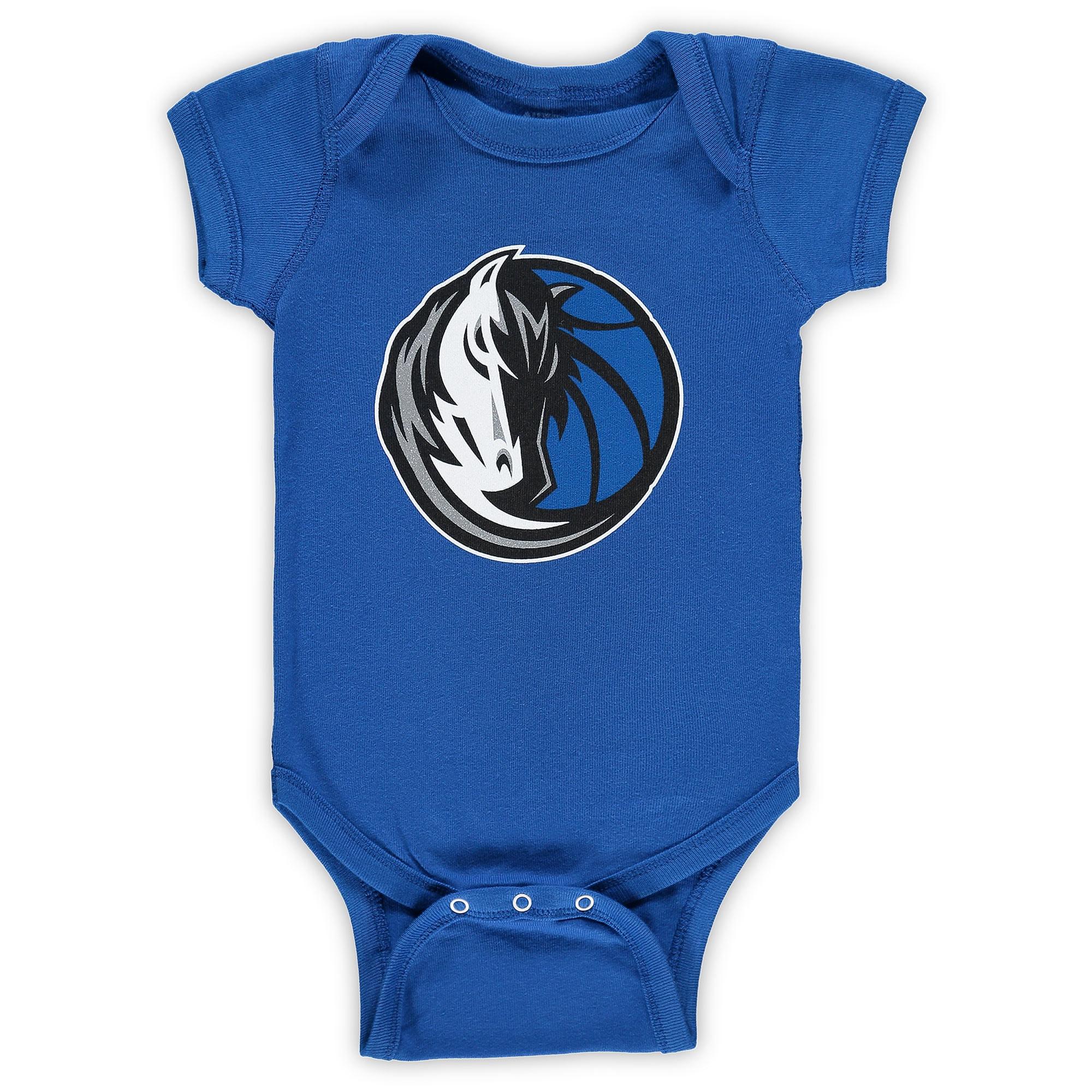 Dallas Mavericks Infant Primary Team Logo Bodysuit - Blue