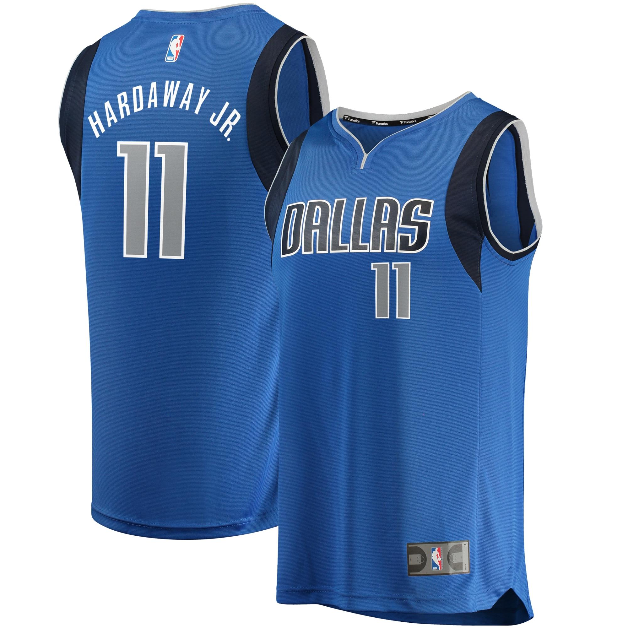 Tim Hardaway Jr Dallas Mavericks Fanatics Branded Fast Break Replica Jersey - Icon Edition - Royal
