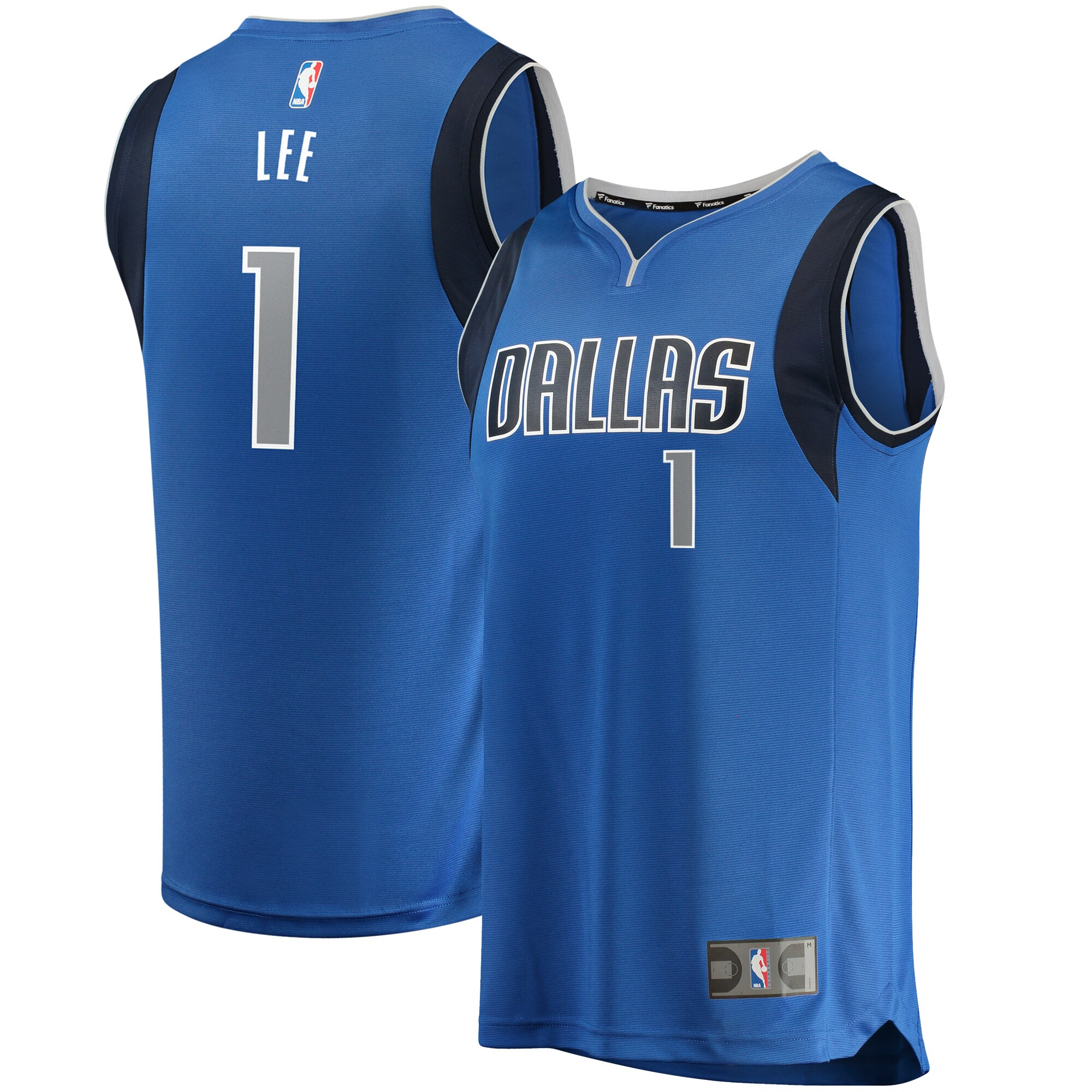 Courtney Lee Dallas Mavericks Fanatics Branded Fast Break Replica Jersey - Icon Edition - Royal
