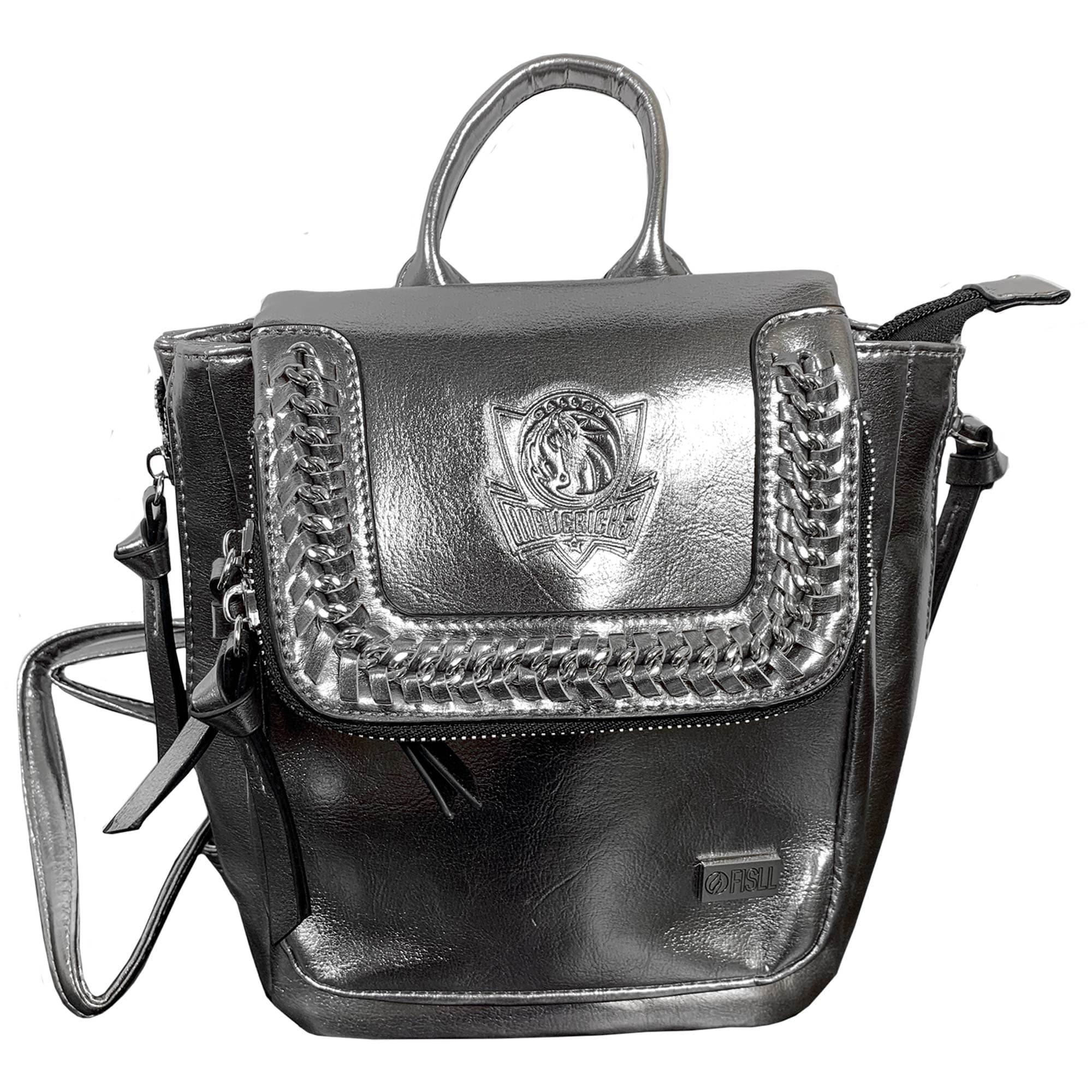 Dallas Mavericks Metallic Mini Backpack