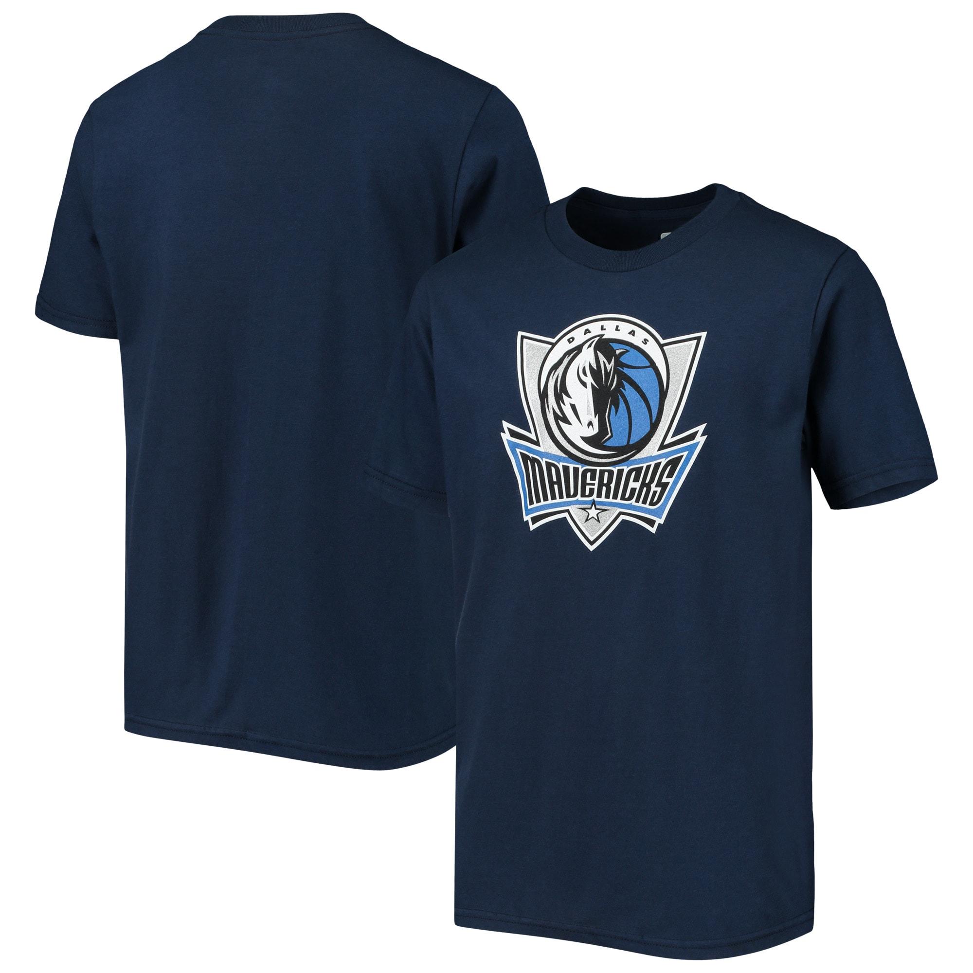 Dallas Mavericks Youth Primary Logo T-Shirt - Navy