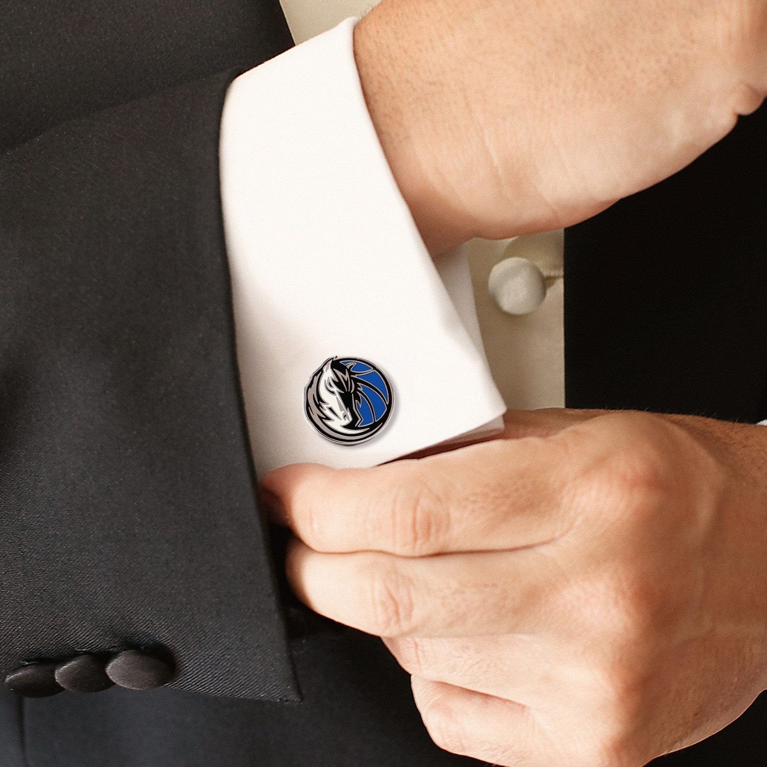 NBA Retro Dallas Mavericks Cufflinks