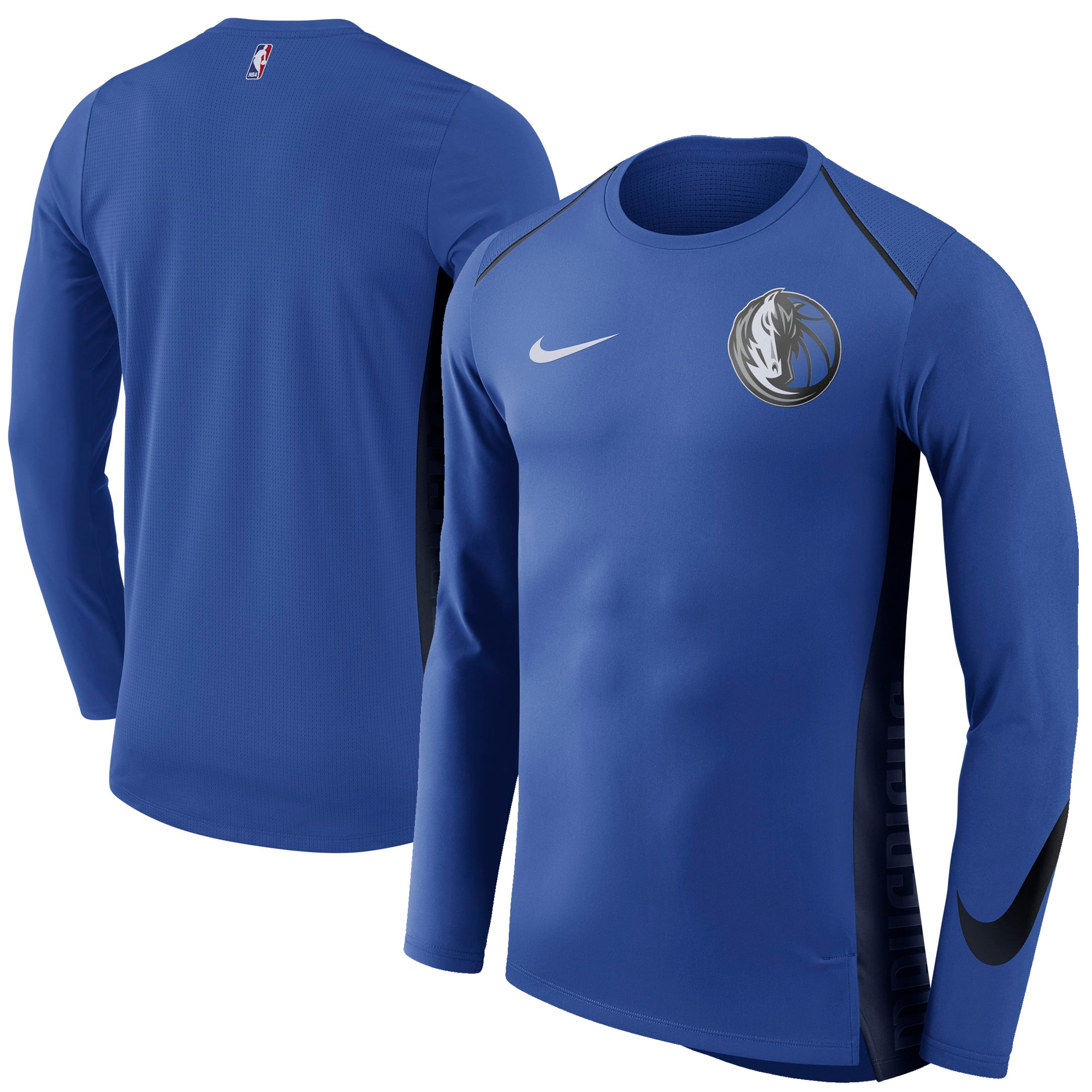Dallas Mavericks Nike Elite Shooter Performance Long Sleeve T-Shirt - Royal