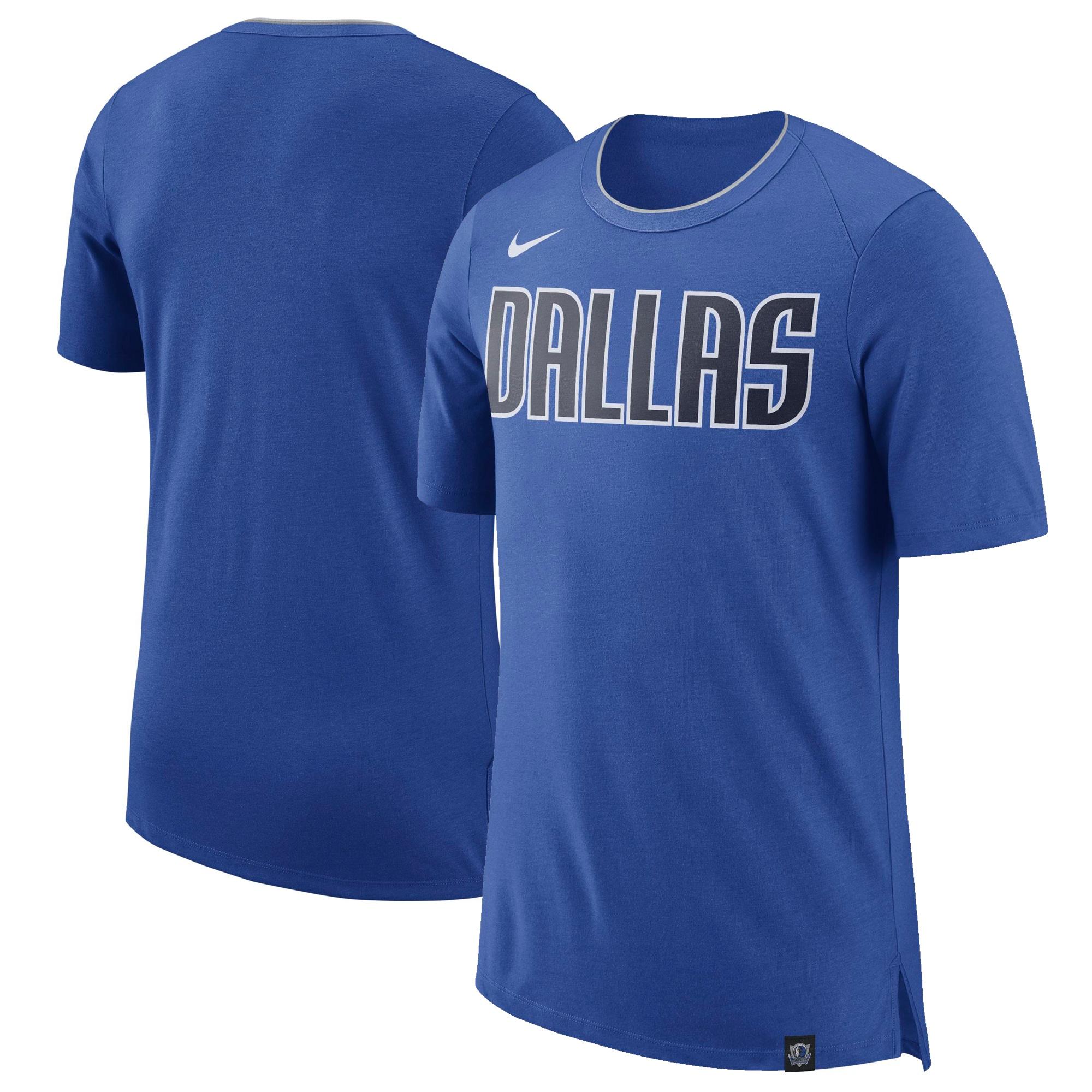 Dallas Mavericks Nike Basketball Fan T-Shirt - Blue