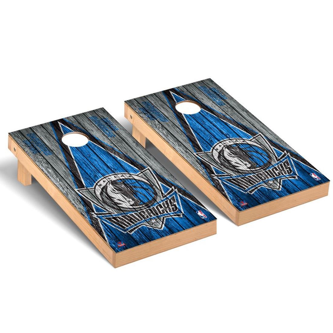 Dallas Mavericks 2' x 4' Weathered Museum Cornhole Board Tailgate Toss Set