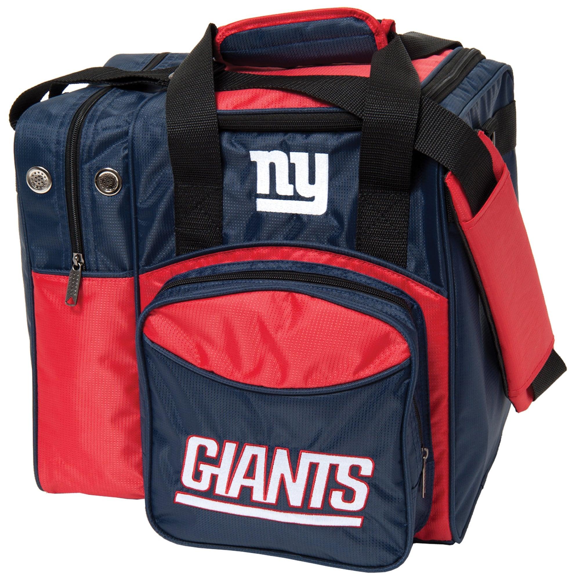 New York Giants Single Ball Bowling Tote
