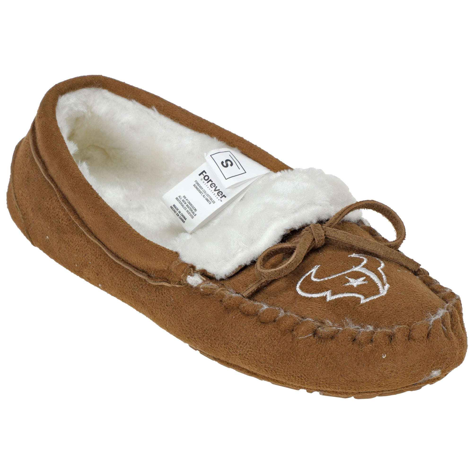 Houston Texans Women's Moccasin Slippers