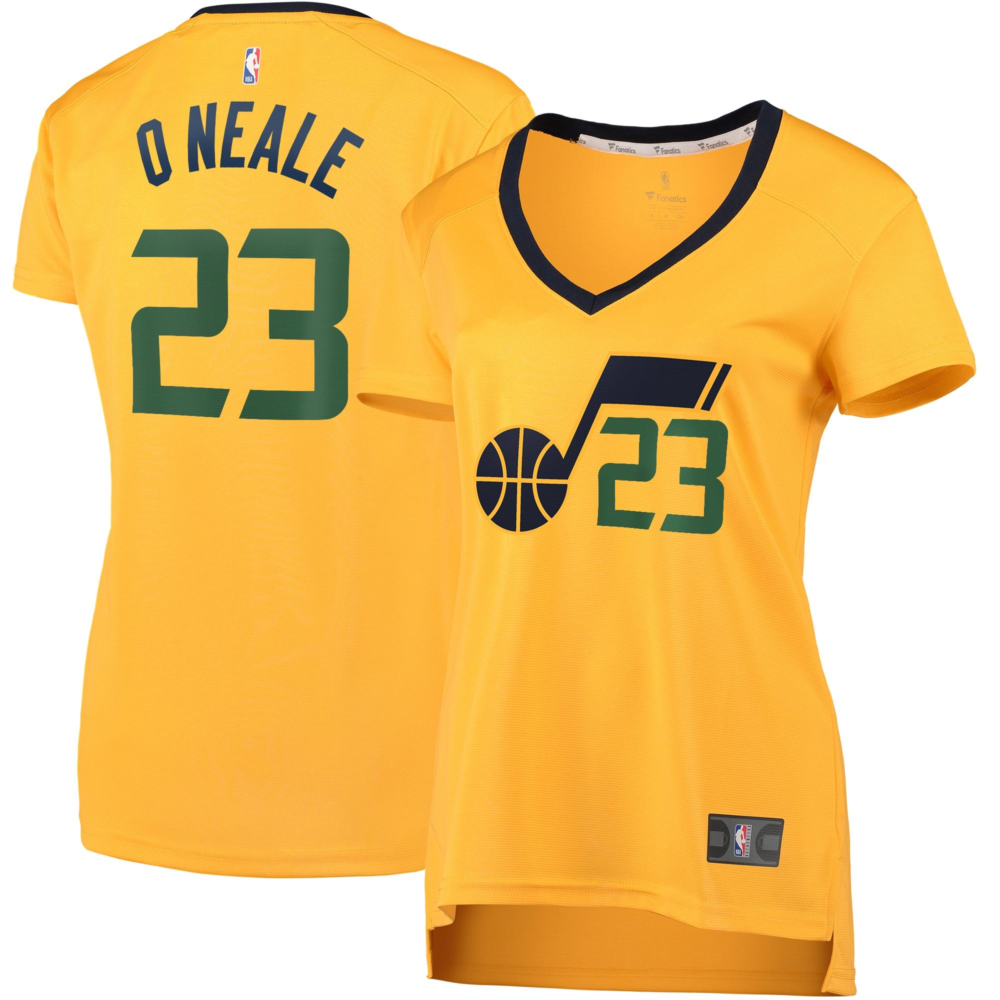 Royce O'Neale Utah Jazz Fanatics Branded Women's Fast Break Player Jersey - Statement Edition - Gold