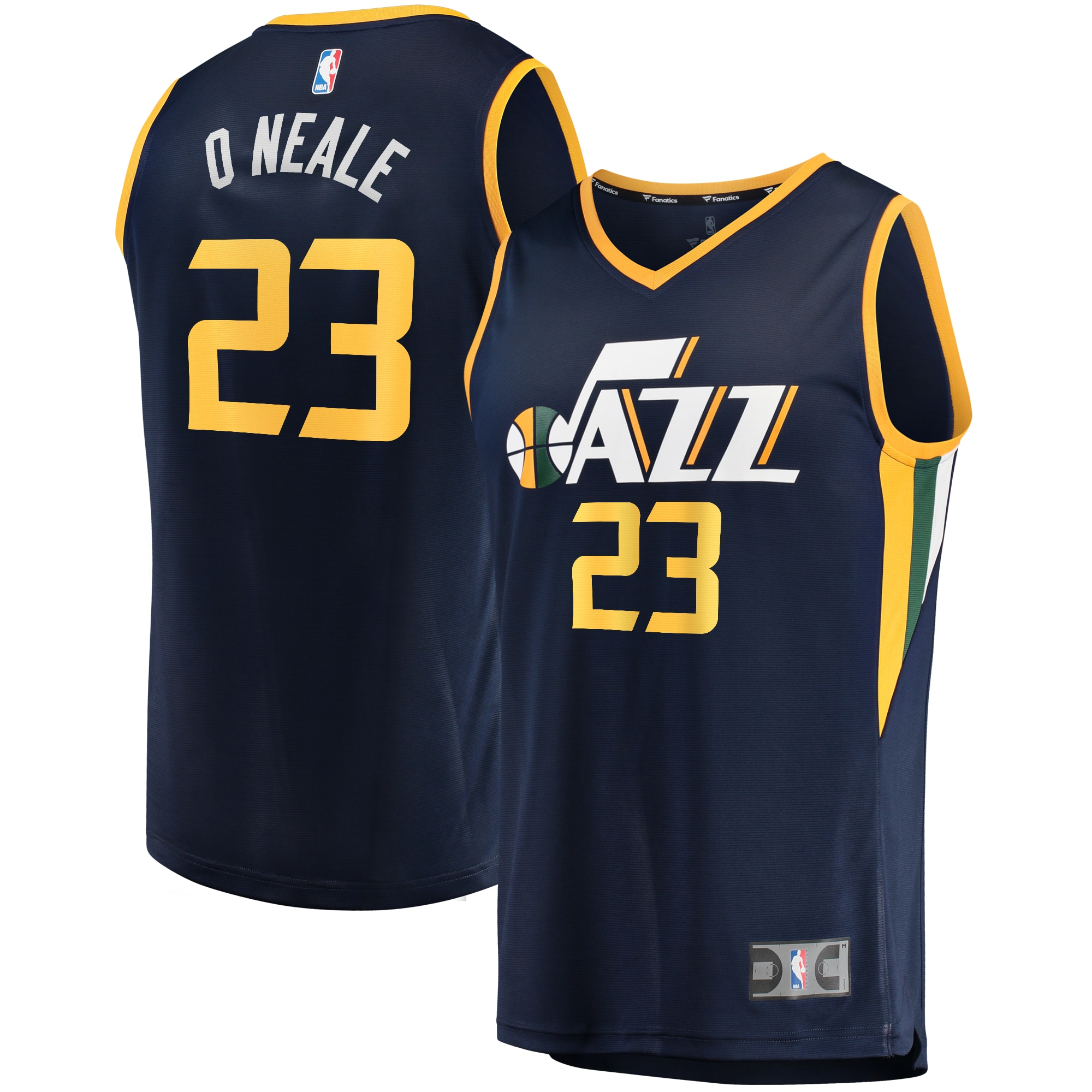Royce O'Neale Utah Jazz Fanatics Branded Fast Break Player Jersey - Icon Edition - Navy