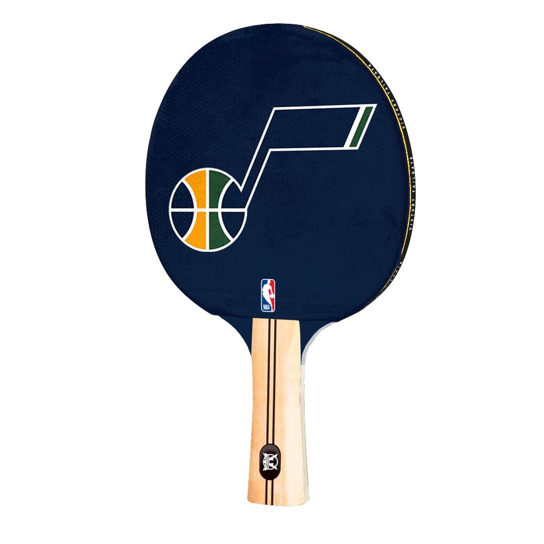 Utah Jazz Logo Table Tennis Paddle