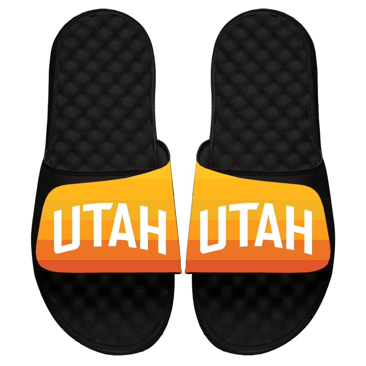 Utah Jazz ISlide 2019/20 City Edition Slide Sandals - Black