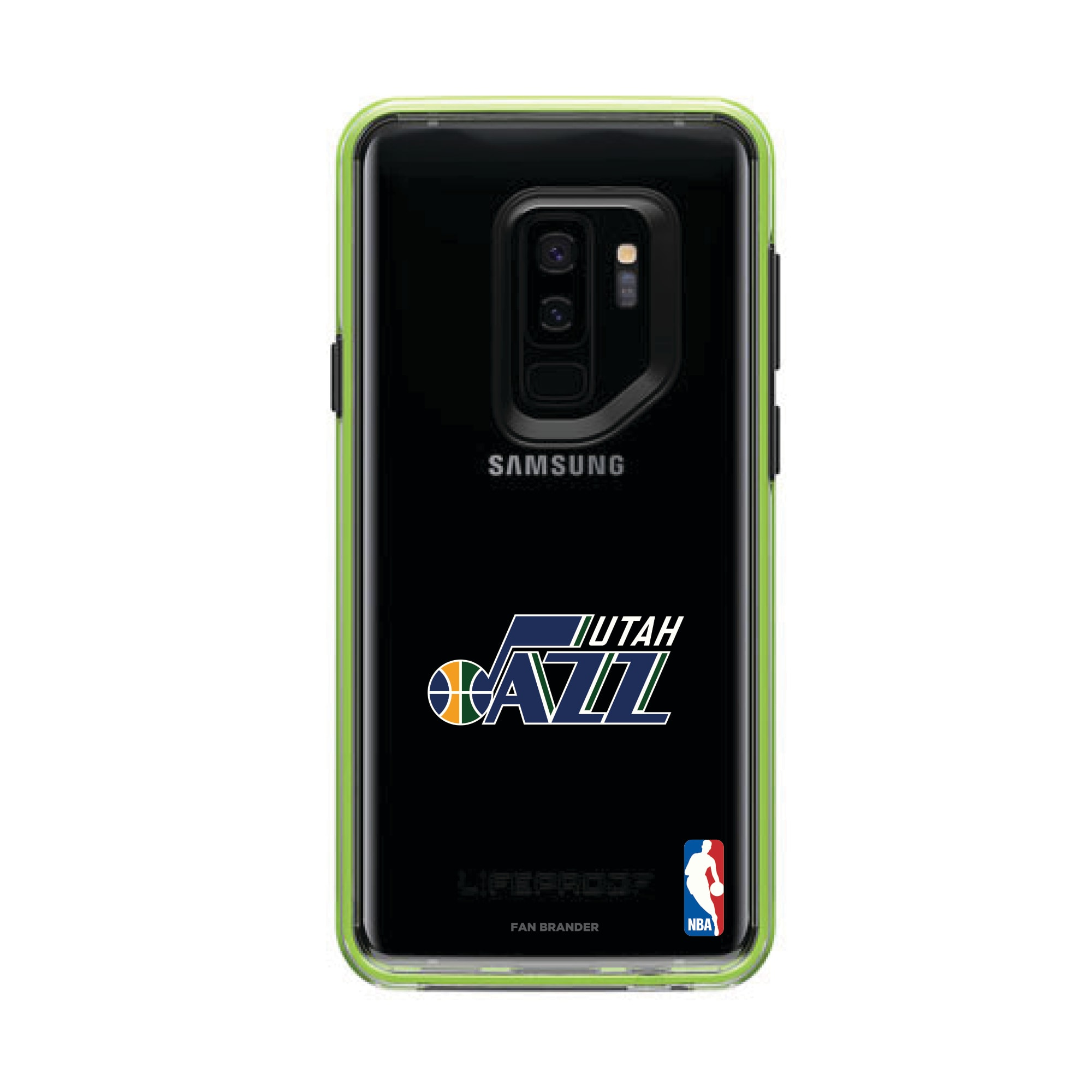 Utah Jazz LifeProof Night Flash Primary Logo Galaxy Case