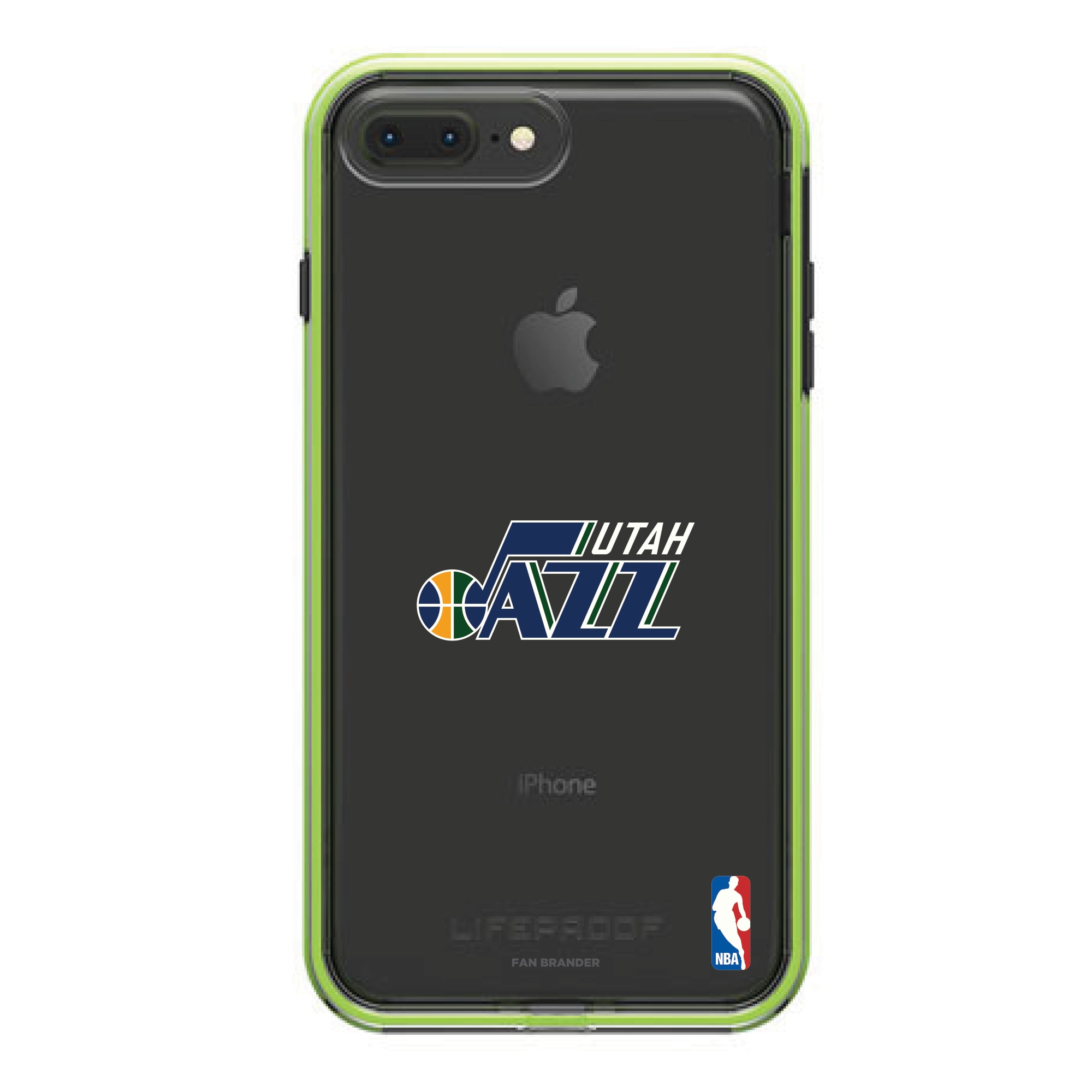 Utah Jazz LifeProof Night Flash Primary Logo iPhone Case