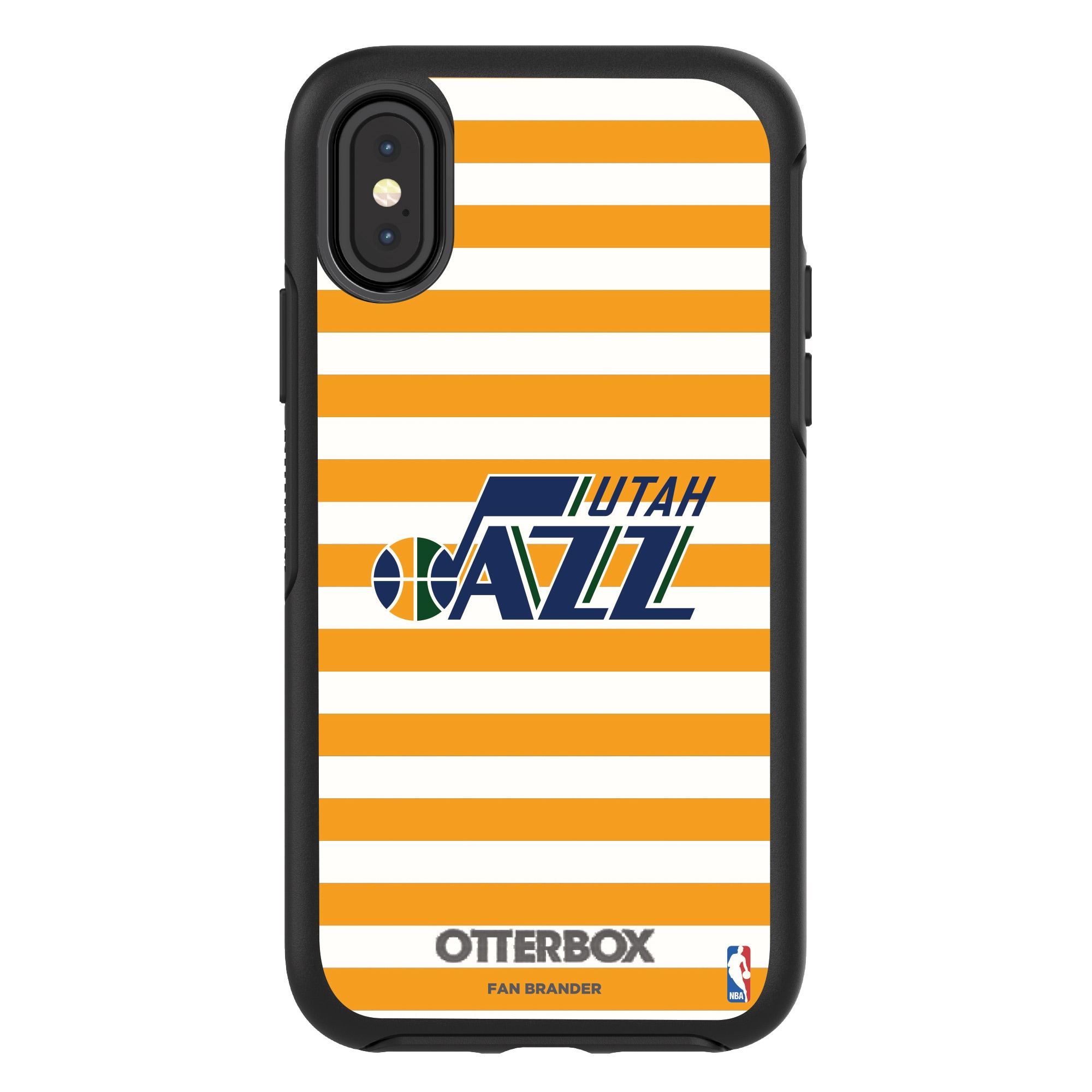 Utah Jazz OtterBox iPhone Symmetry Striped Design Case